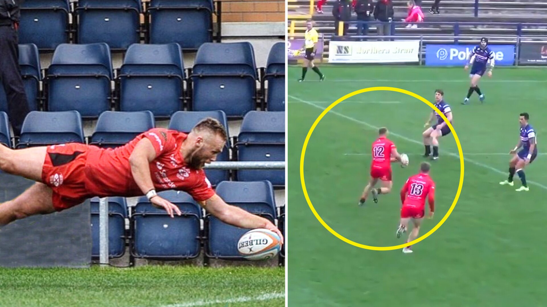People are losing their minds at the phenomenal handling skills of this Championship rugby player