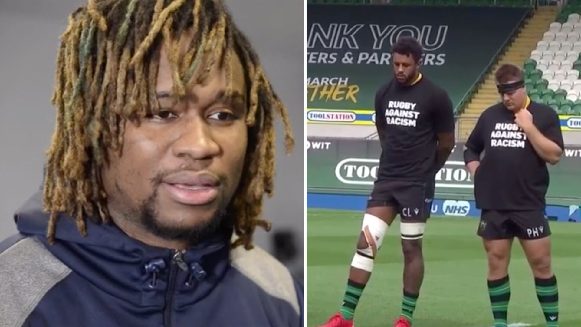 Marland Yarde reveals teammates at Sale Sharks have received death threats
