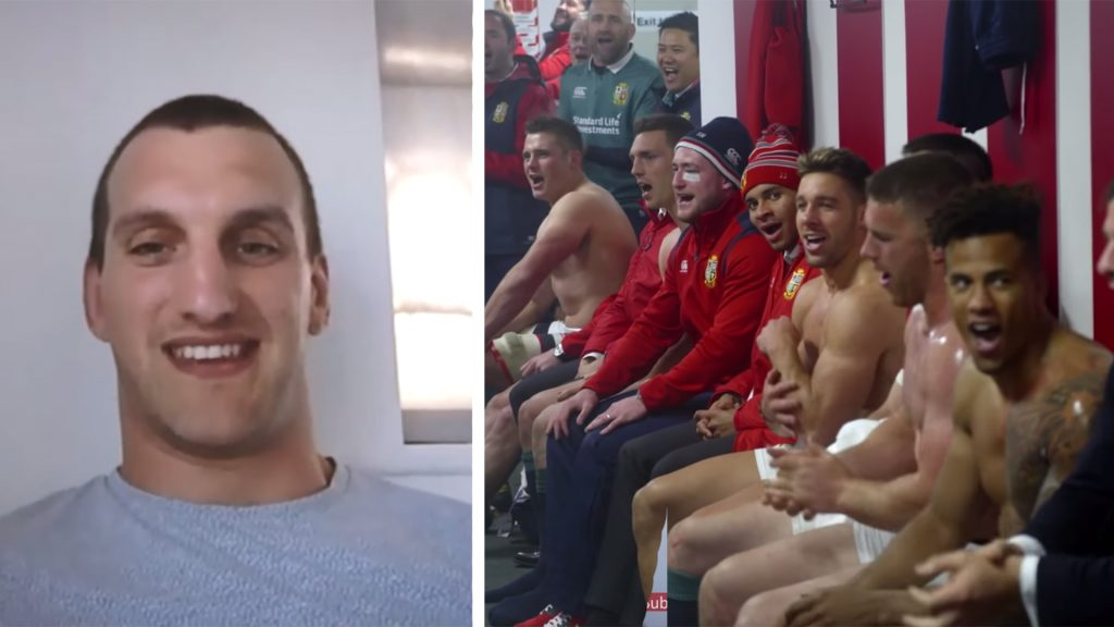 Sam Warburton is brutally honest about what it was like having to sing Jerusalem with the Lions