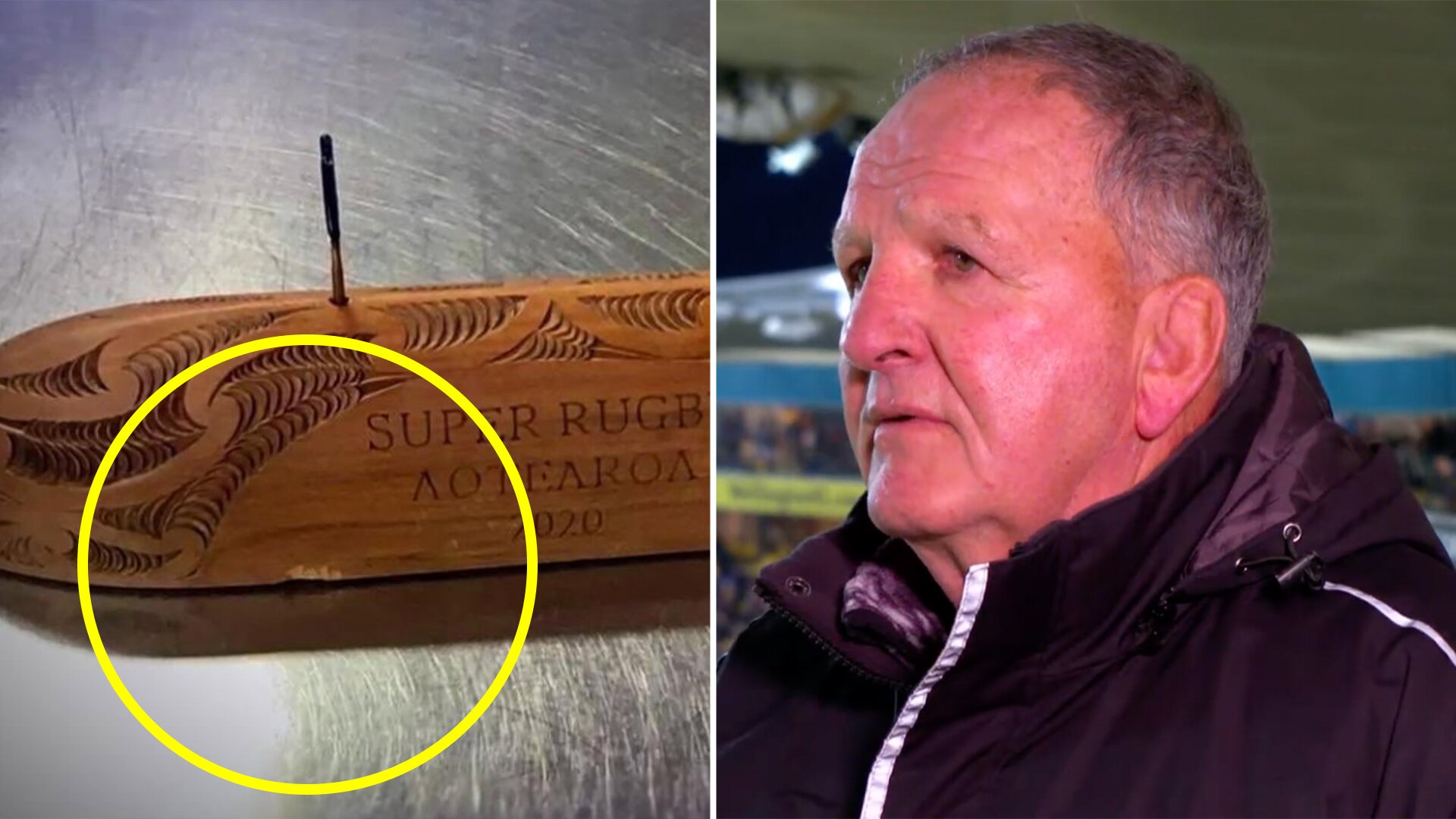 Terrible sadness for talented master carver as Crusaders trash unique Super Rugby trophy