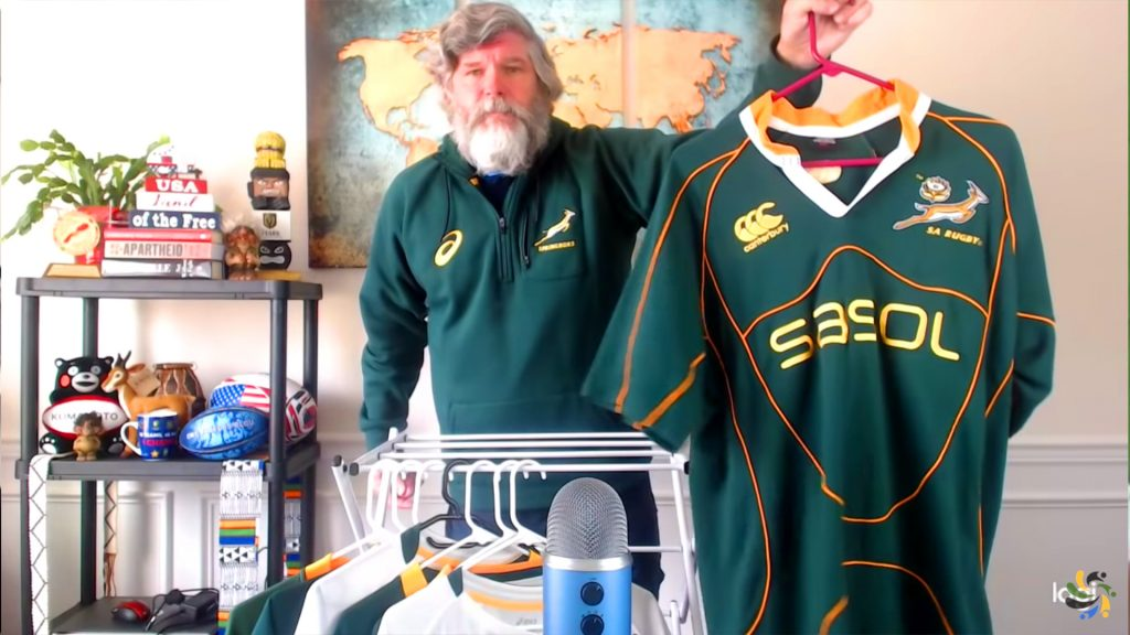 Why are Springbok fans cutting up their jerseys?
