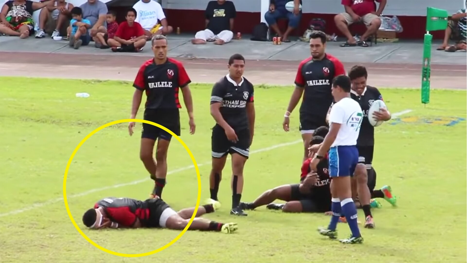 When Rugby Players Dive/Fake Injury