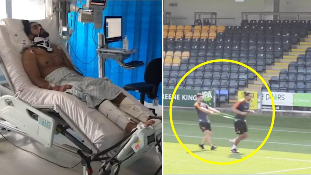 Worcester Warriors post incredible update on Michael Fatialofa just months after neck injury