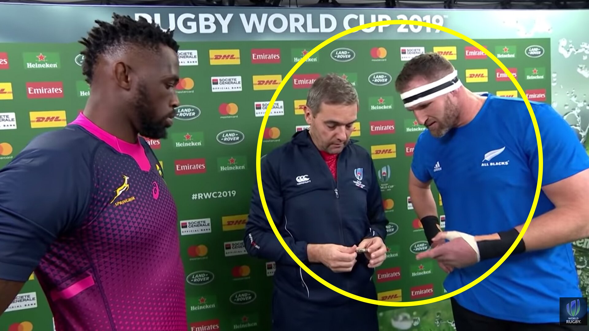 Unseen footages proves Rugby World Cup officials were in on helping the Springboks win