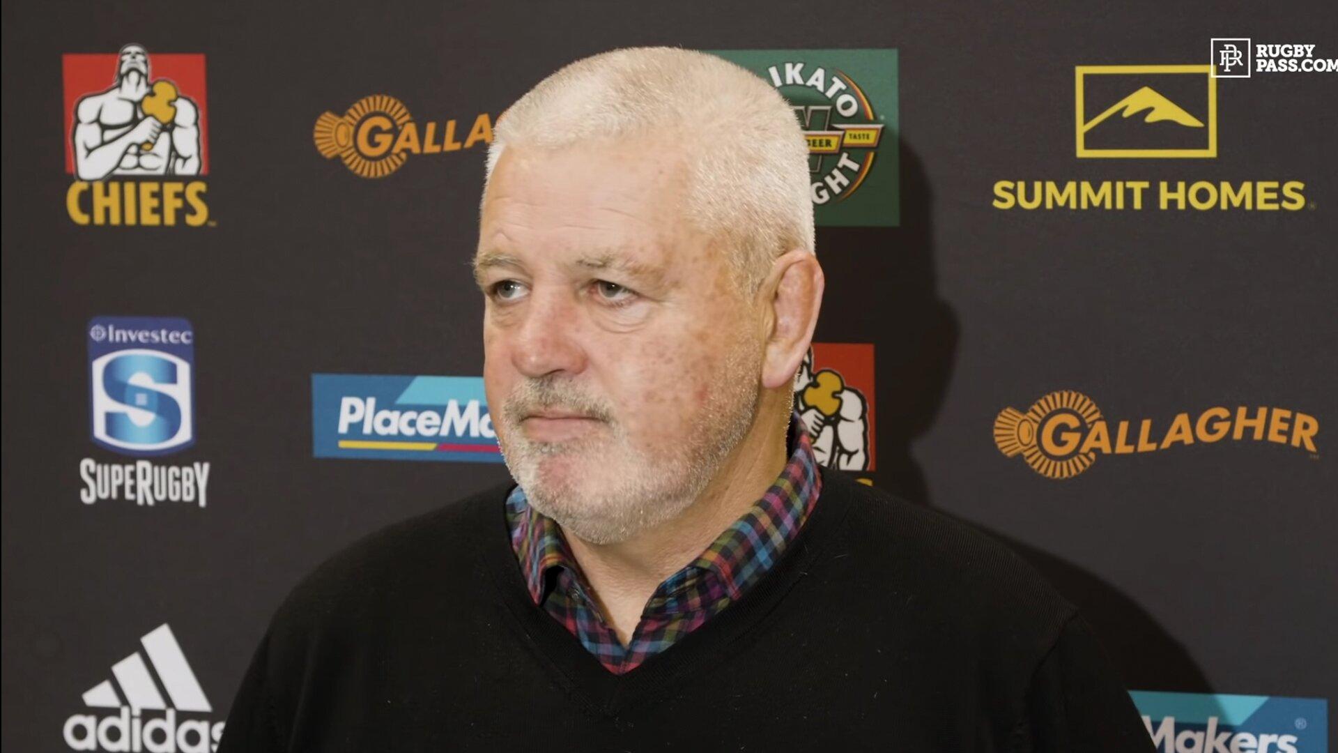 Warren Gatland gives his verdict on controversial Sevu Reece try
