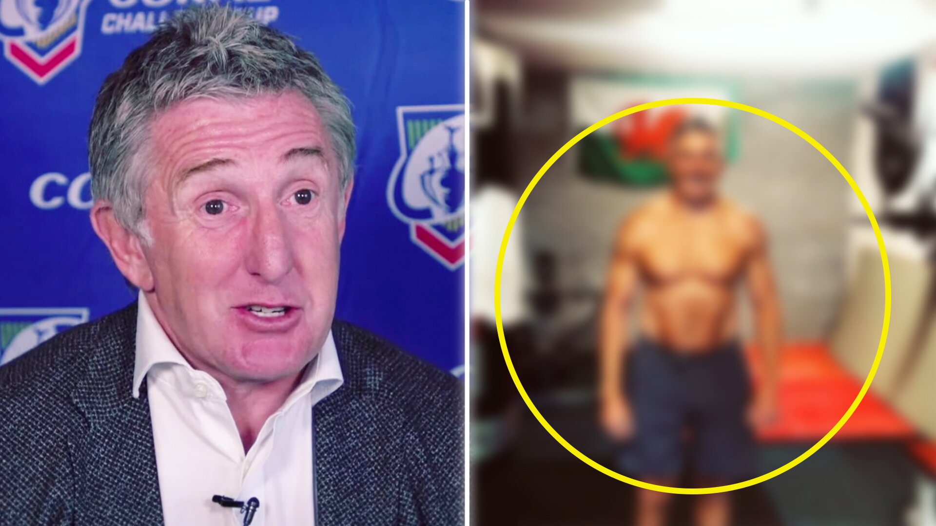 Fans are blown away as Jonathan Davies reveals unbelievable lockdown transformation