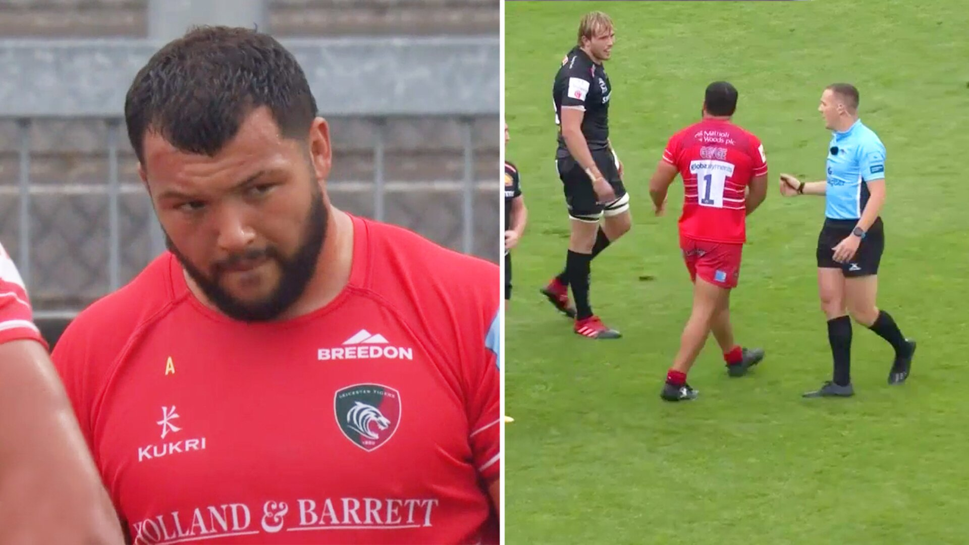 Genge and Gray both instructed to get into eachother - chaos ensues