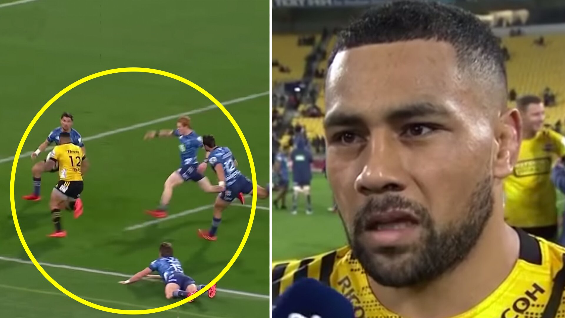 Terrifying Ngani Laumape 'Taking Names' video has just dropped and it's going viral