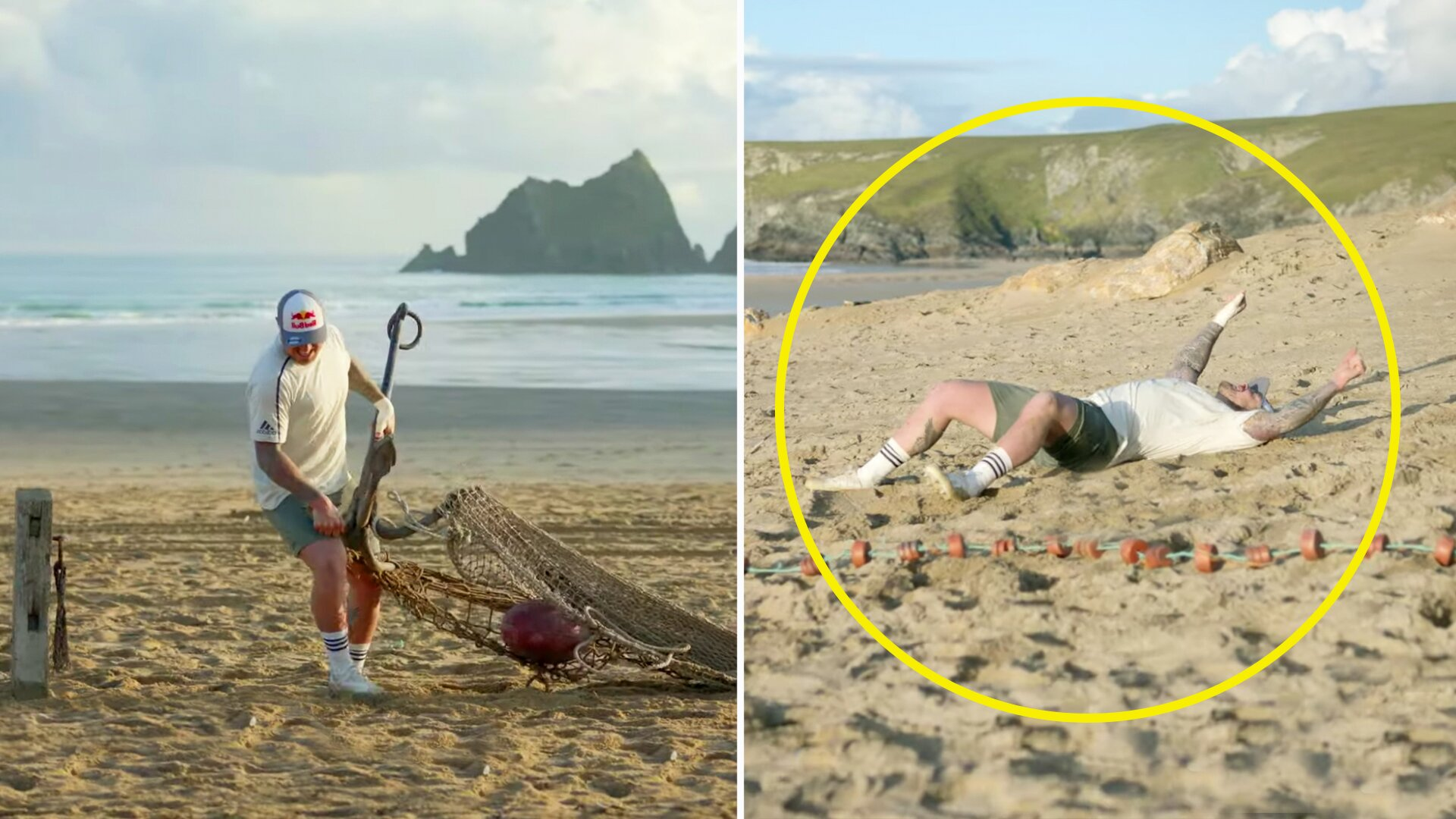 Jack Nowell is broken by controversial new assault course deemed too hard for pro rugby players