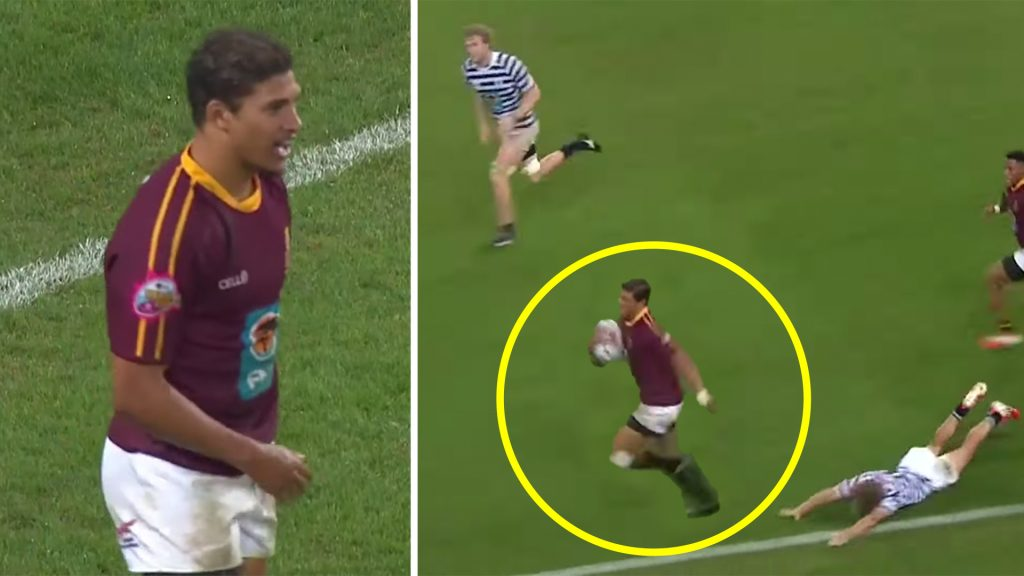 Stunning video drops on South African winger tipped to be next big Springbok star