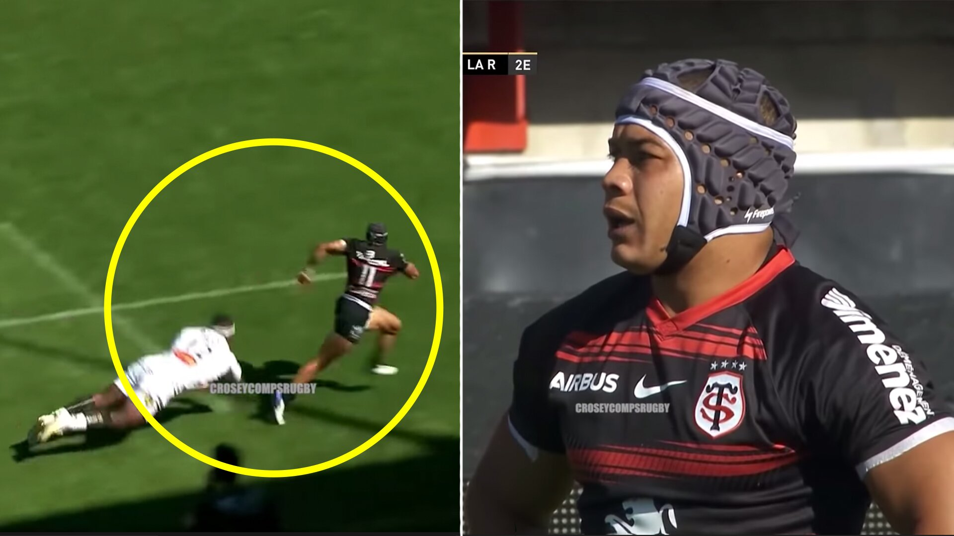 Cheslin Kolbe is literally unplayable as he terrifies opponents for Toulouse