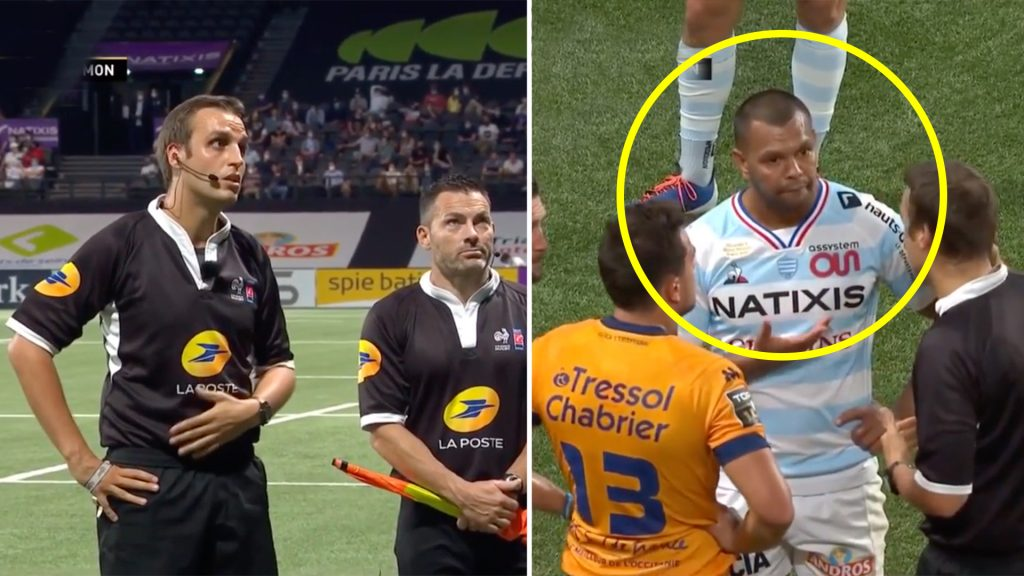 Kurtley Beale had possibly the worst start to his second Racing 92 game that you could imagine