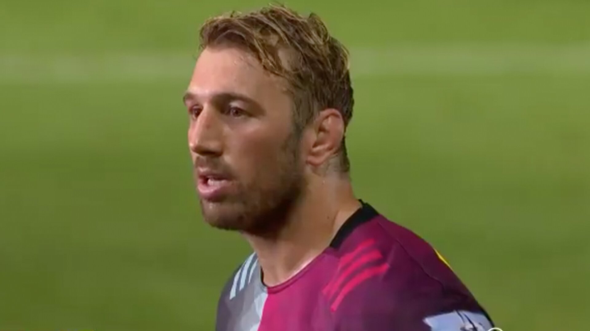 Incredibly emotional moments for Chris Robshaw last night in his final home match for Harlequins