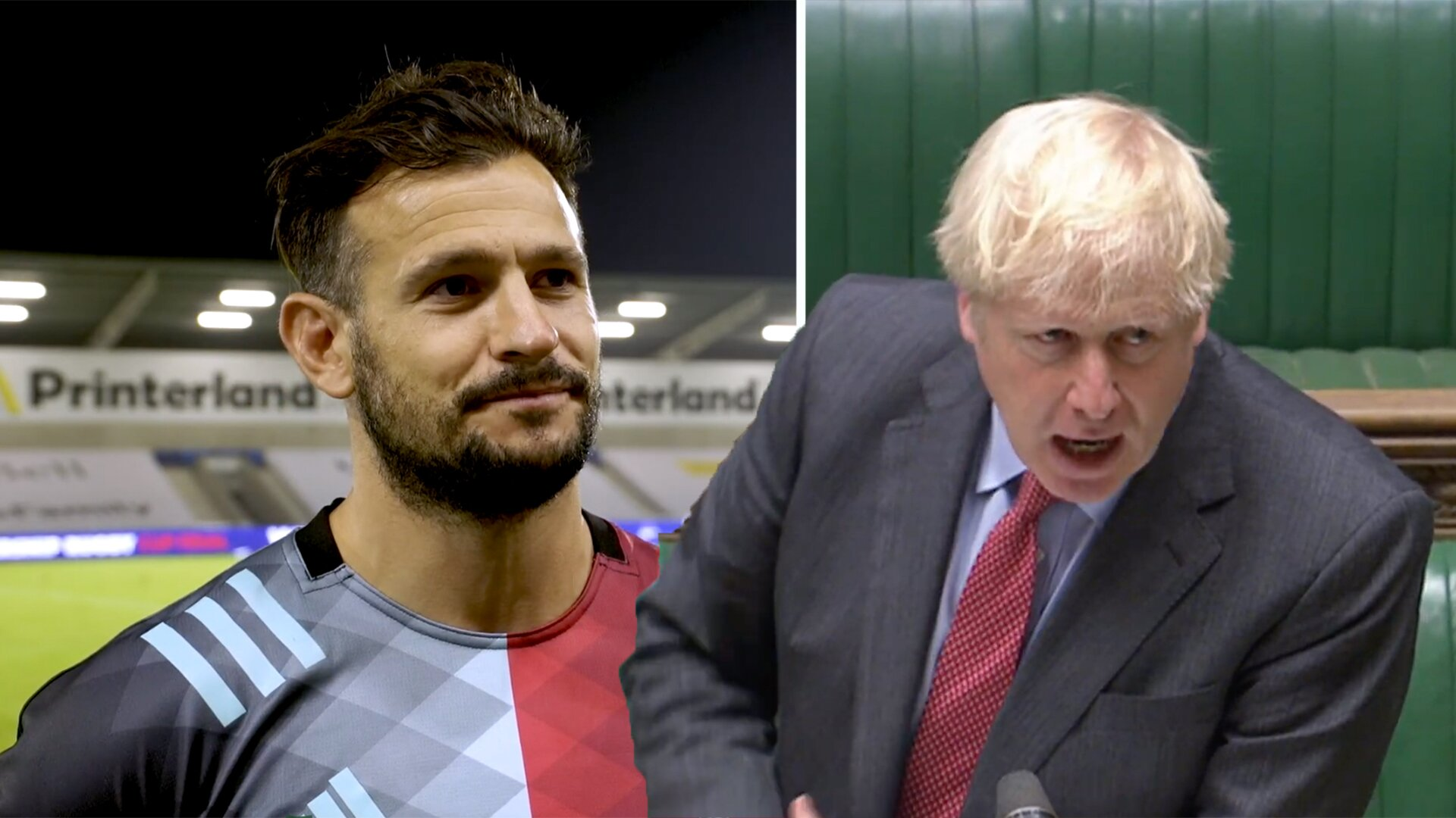 Danny Care gives a blunt but honest reaction to the Goverment not allowing crowds back in Sport