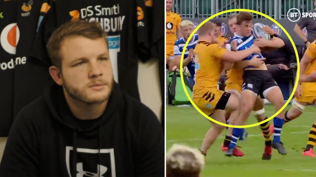 Calls for Joe Launchbury to be banned after brutal manhandling of 20-year-old last weekend