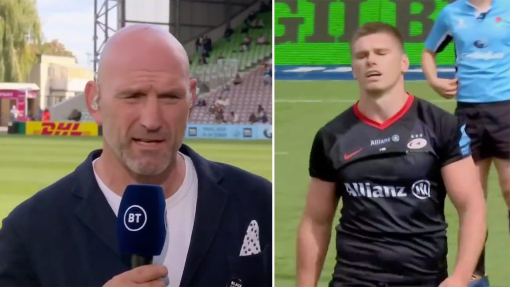Rugby players are seriously calling out Owen Farrell for his horror tackle this weekend