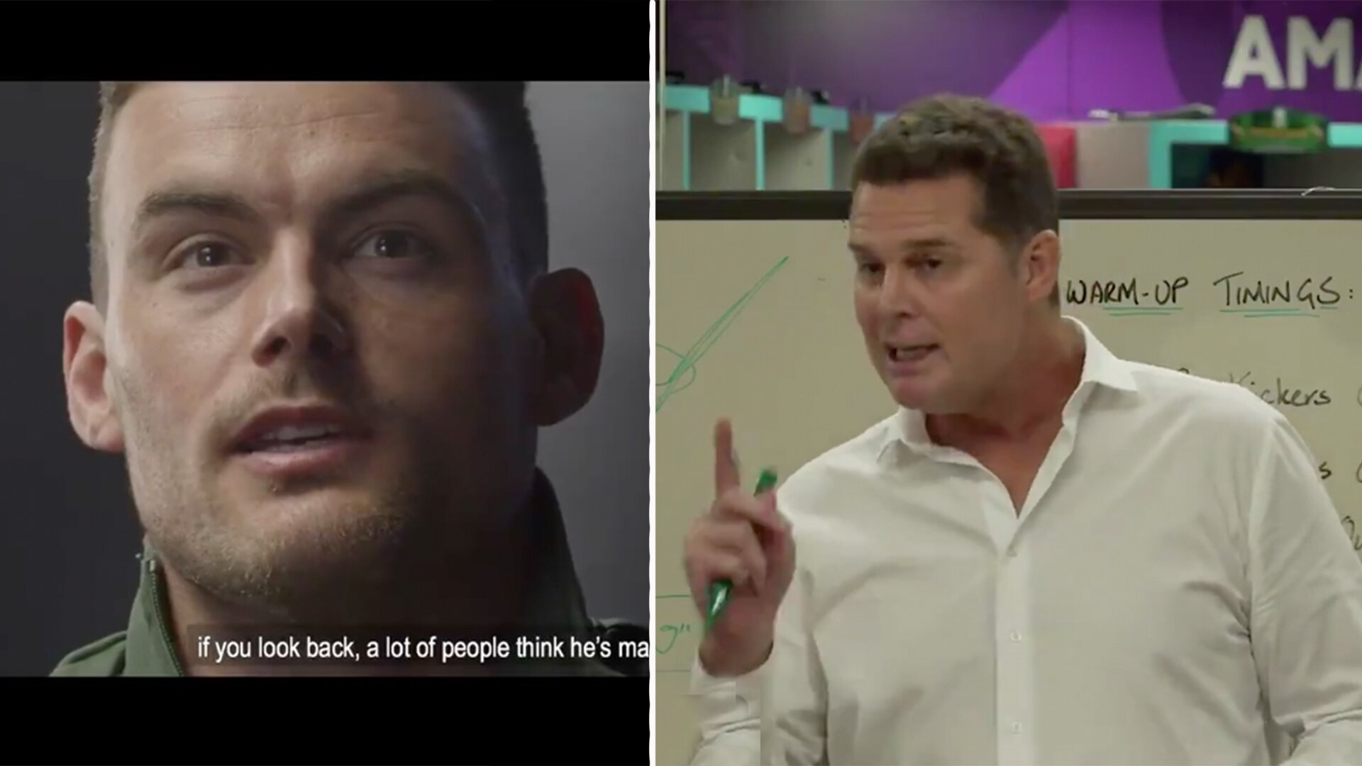Rassie Erasmus has just posted his own incredible teaser for the Springboks documentary