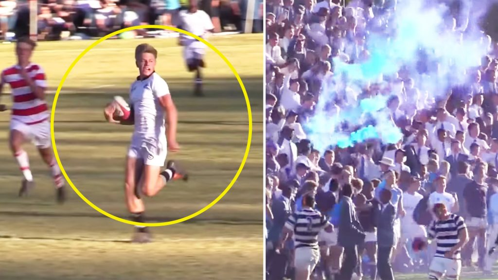 Spine-tingling new video shows just how crazy schoolboy rugby is in South Africa