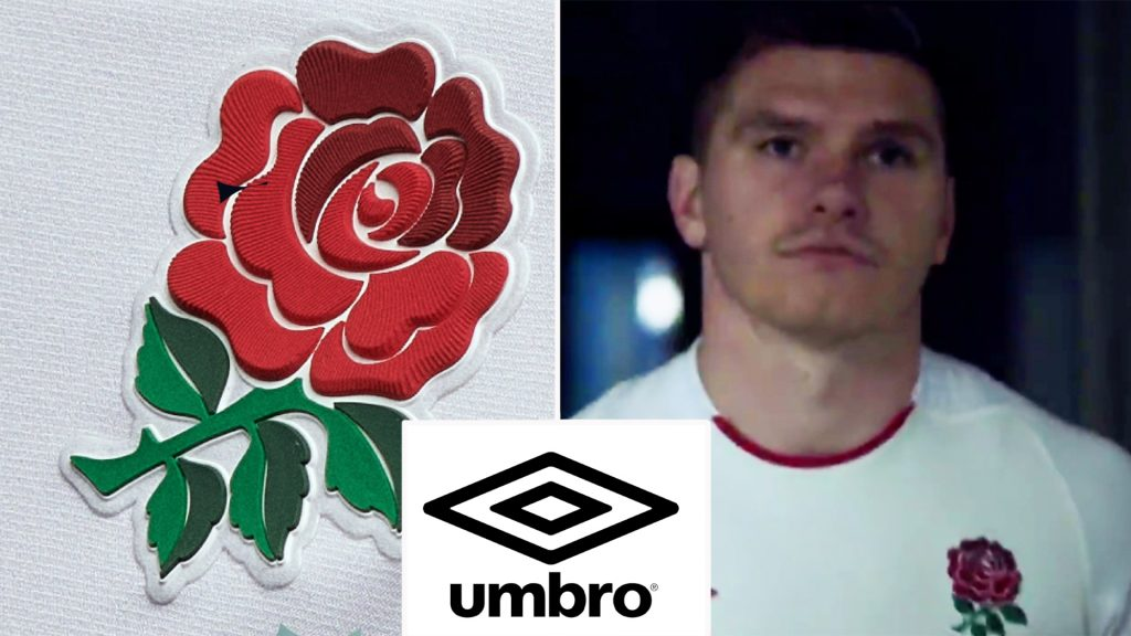 The new England rugby kit has been unveiled and it's sending the internet into meltdown