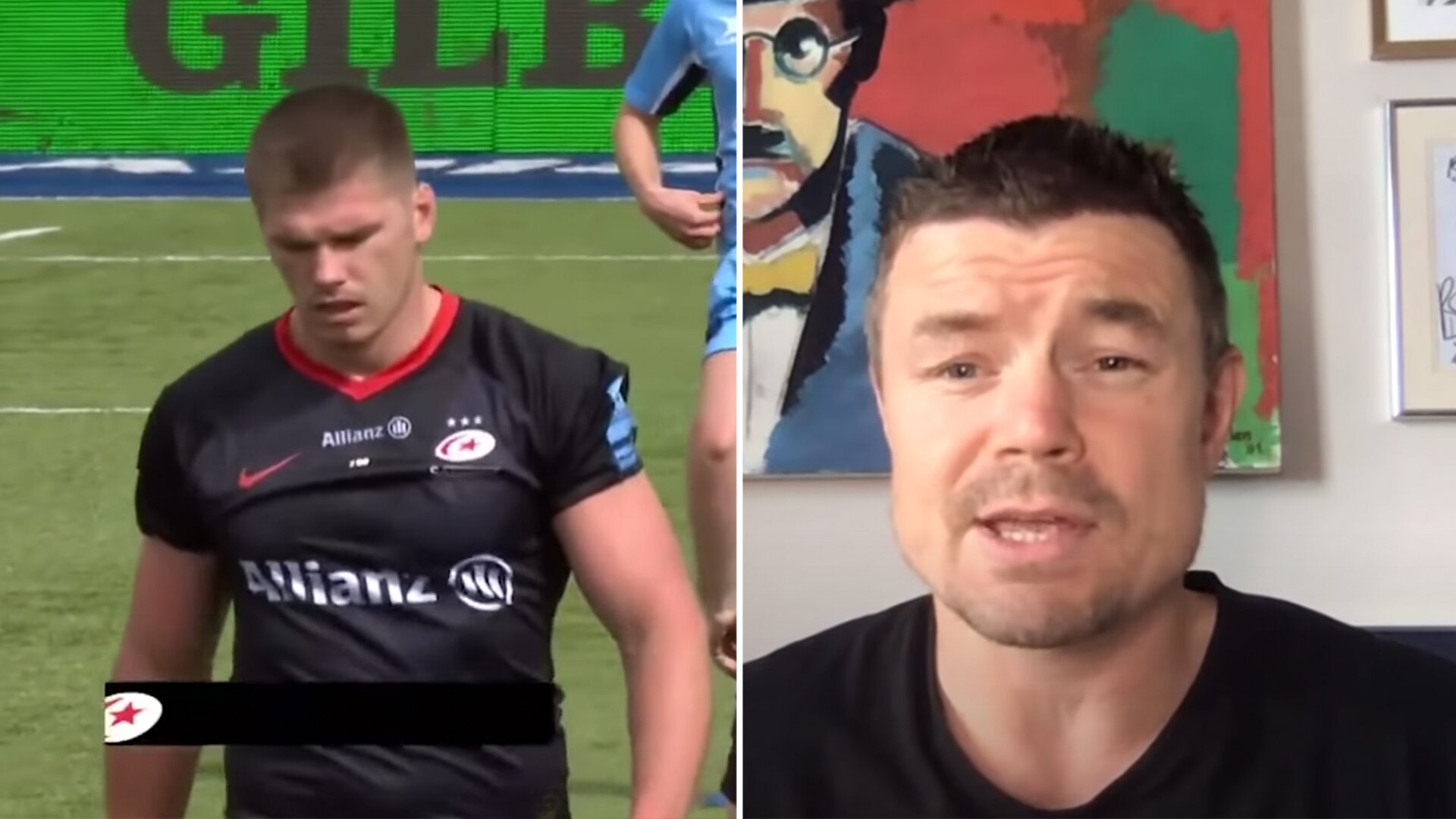 Brian O'Driscoll has just surprised rugby fans with his opinion on Owen Farrell
