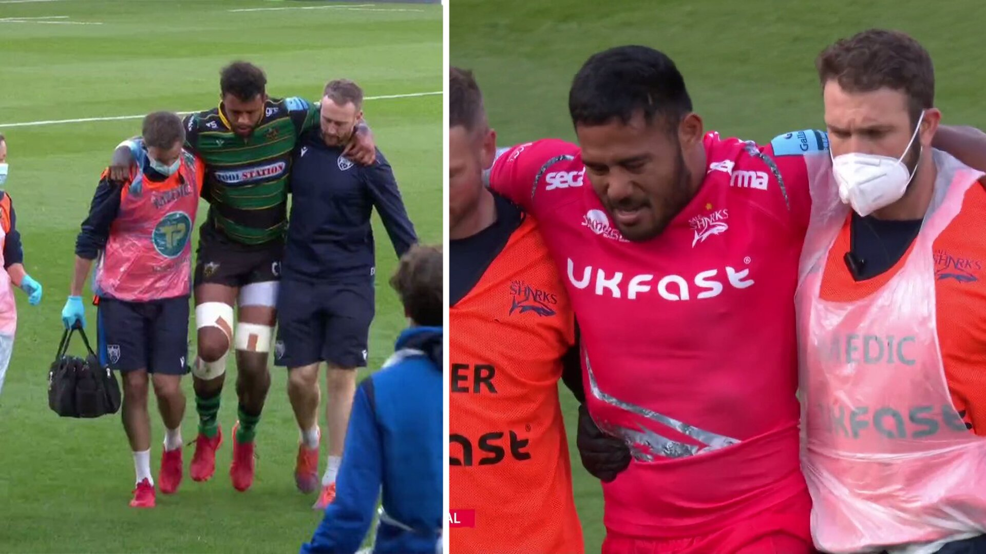 Injury disaster for England as multiple top stars are seriously injured