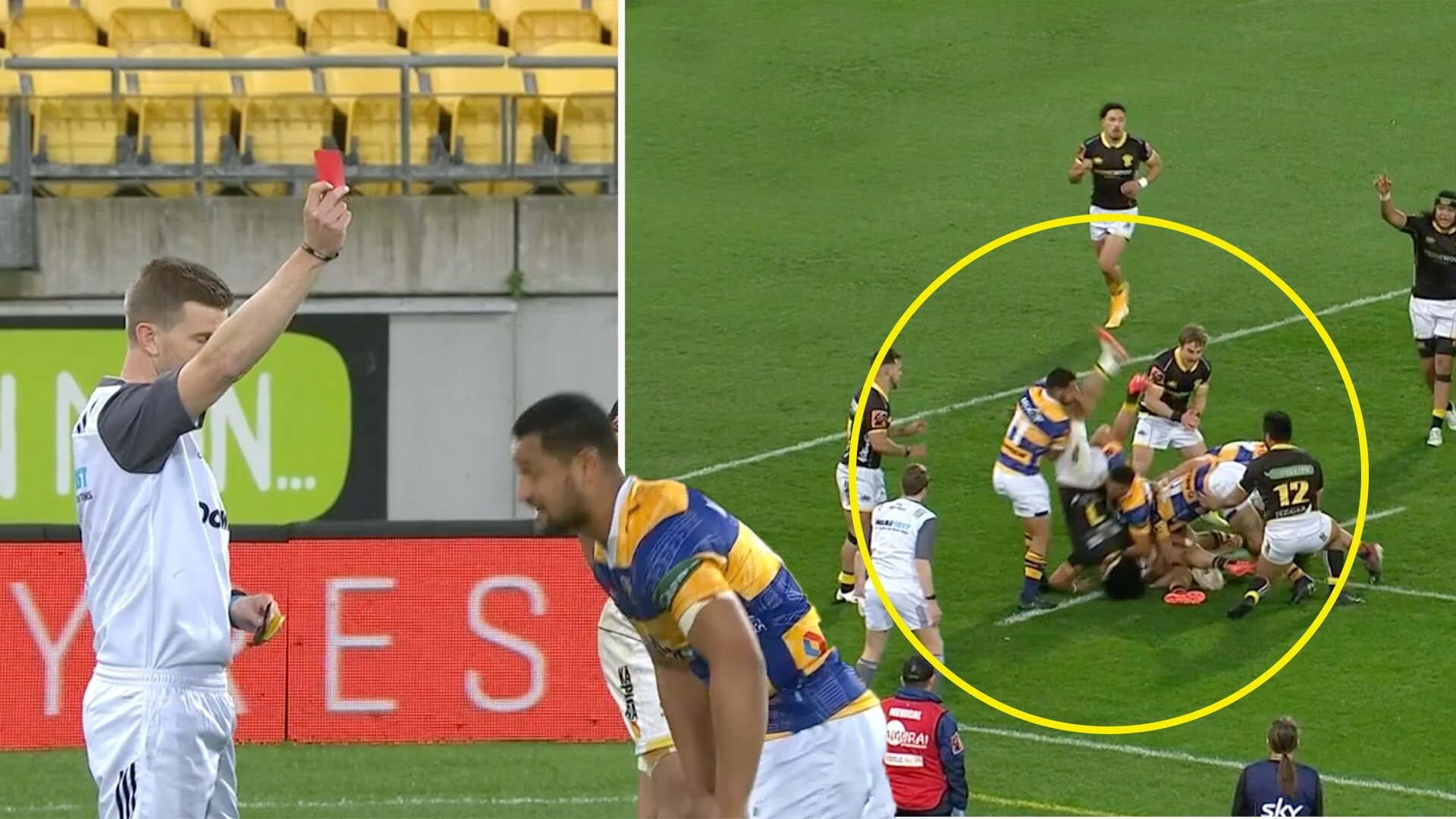 Fans stunned after revolting clear out tackle in yesterday's Mitre 10 clash