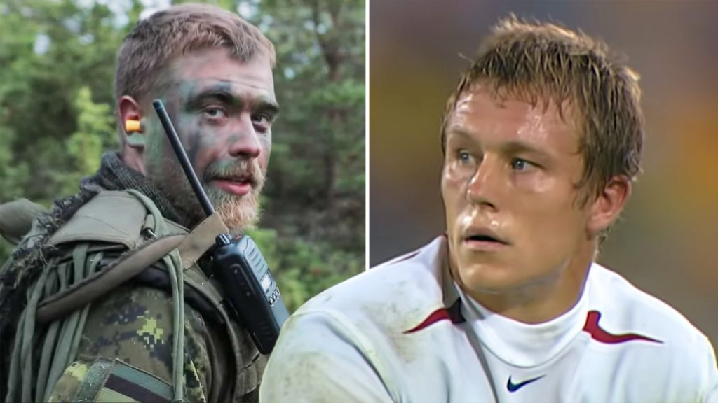 How the Royal Marines won England the Rugby World Cup