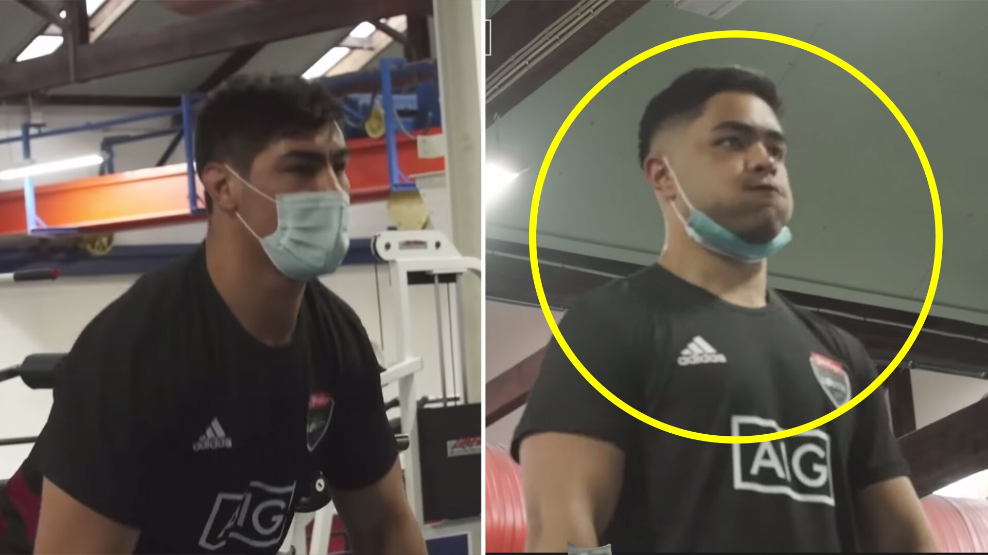 New footage of All Blacks in gym reveals stark realities of rugby in a pandemic