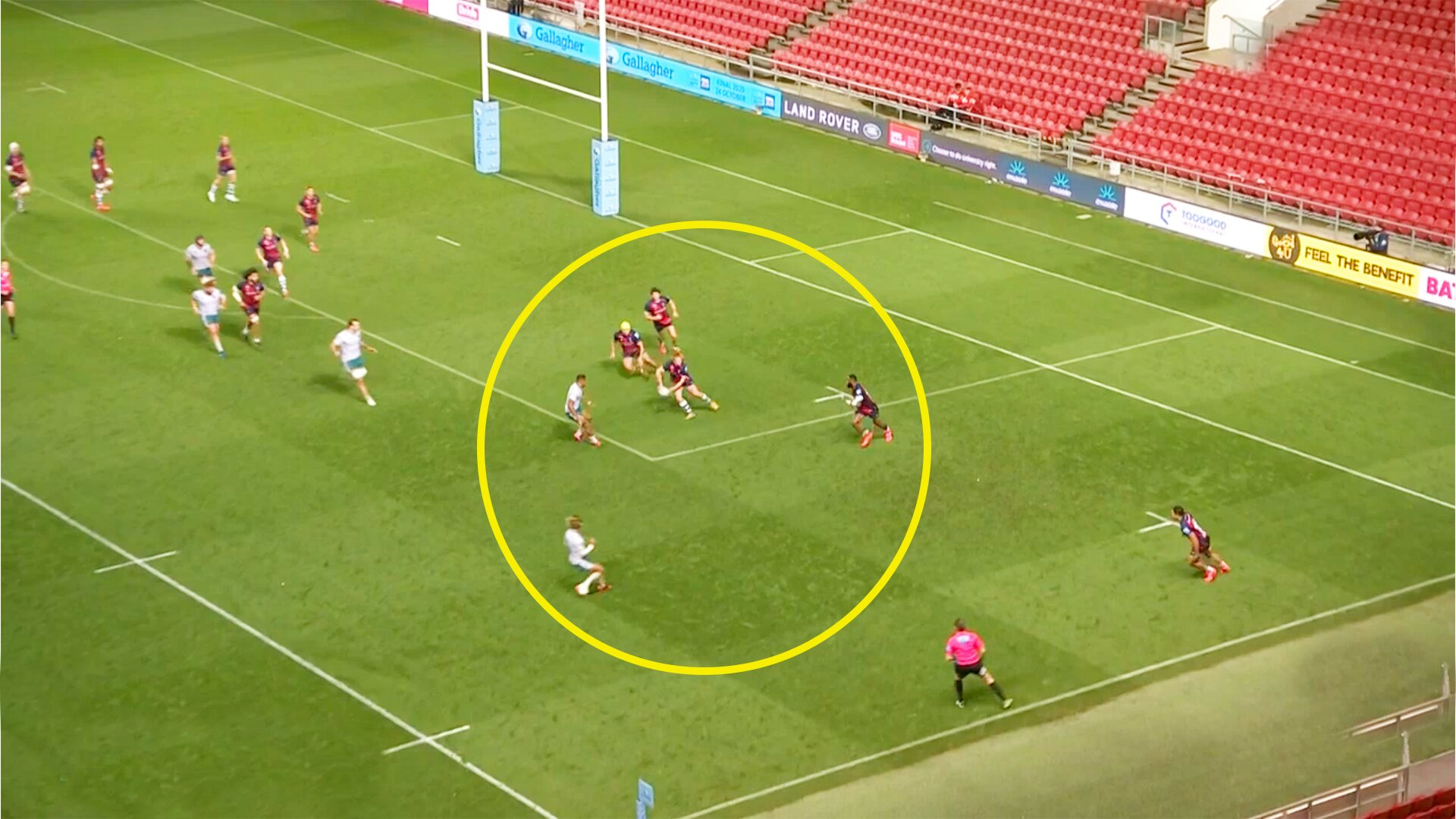 WATCH: The sensational Bristol score that everyone's dubbing 'the try of the season'