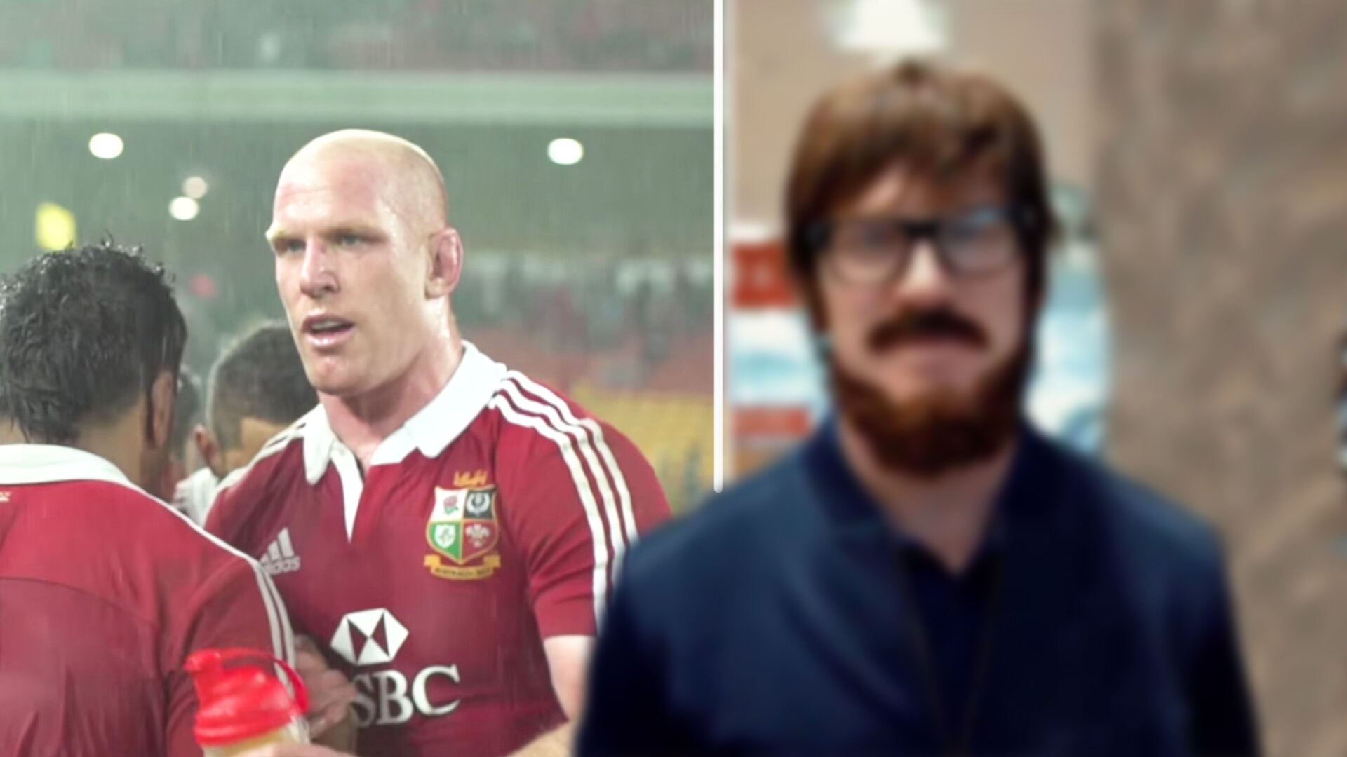 Rugby fans stunned as Paul O'Connell reveals unrecognisable transformation