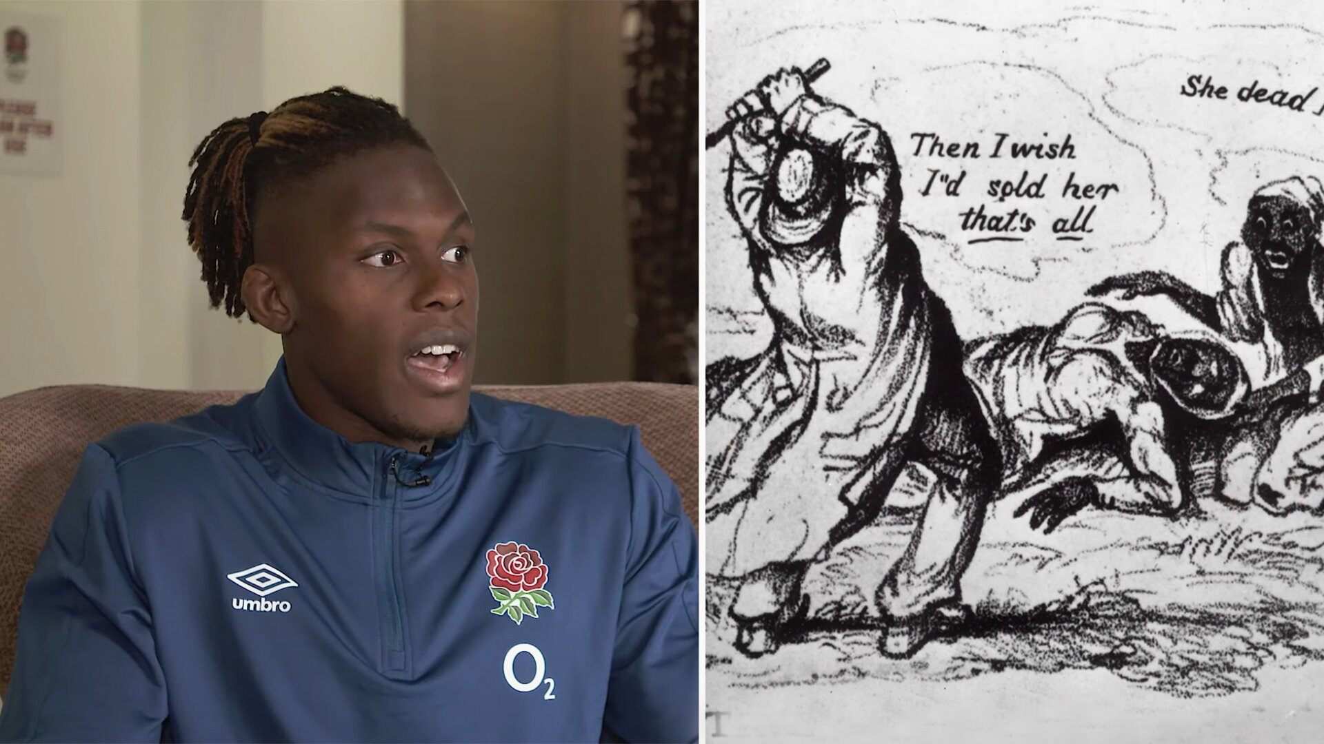 England rugby surprise everyone as they release video about the dark origins of Swing Low, Sweet Chariot
