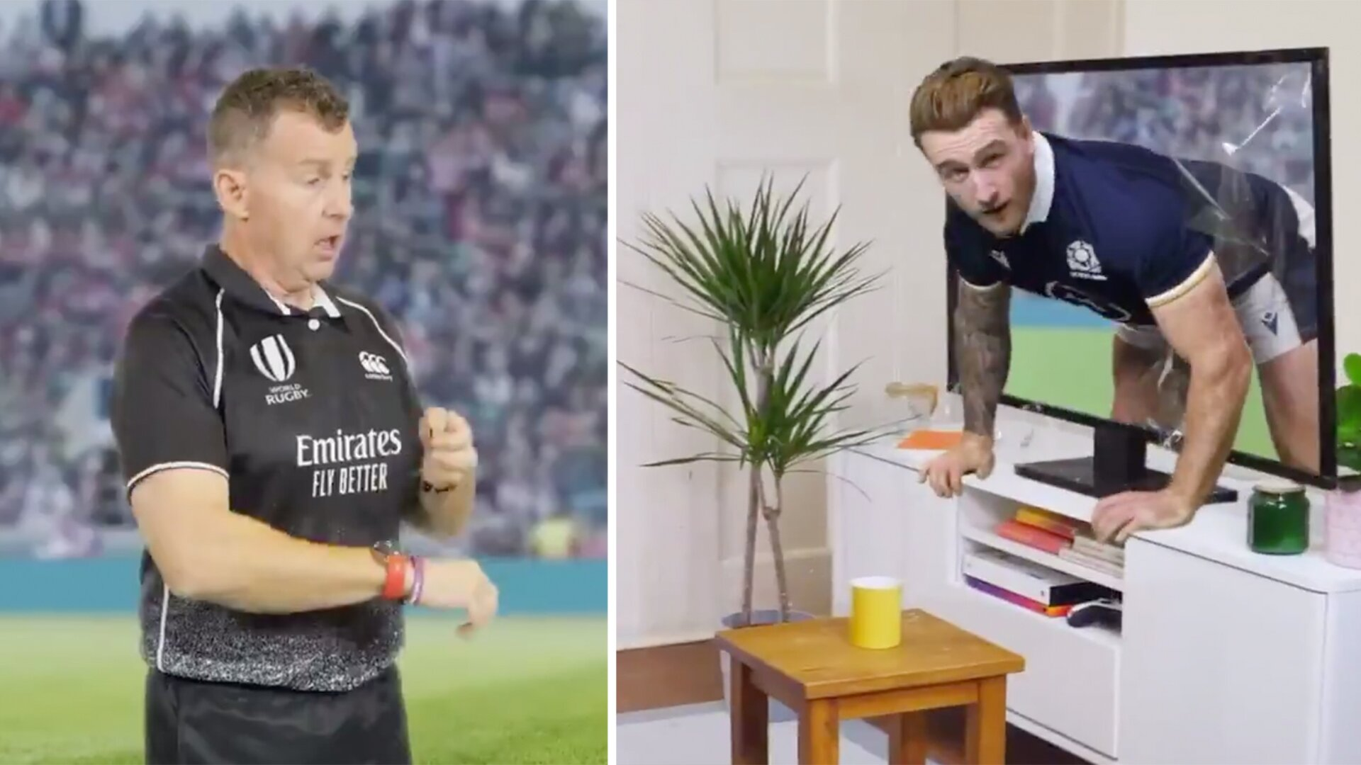The bizarre advert Amazon have made to celebrate the launch of the Autumn Nations Cup
