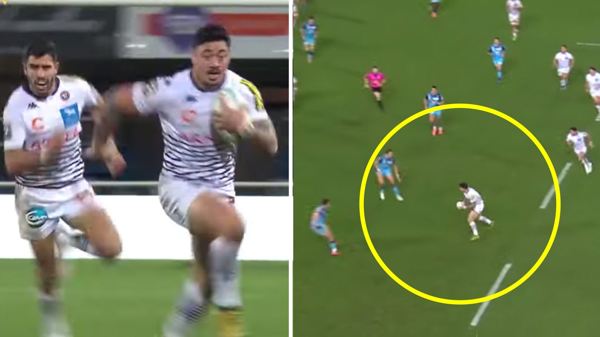 Ben Lam terrifyingly reminds the All Blacks why he should be selected with devastating solo run