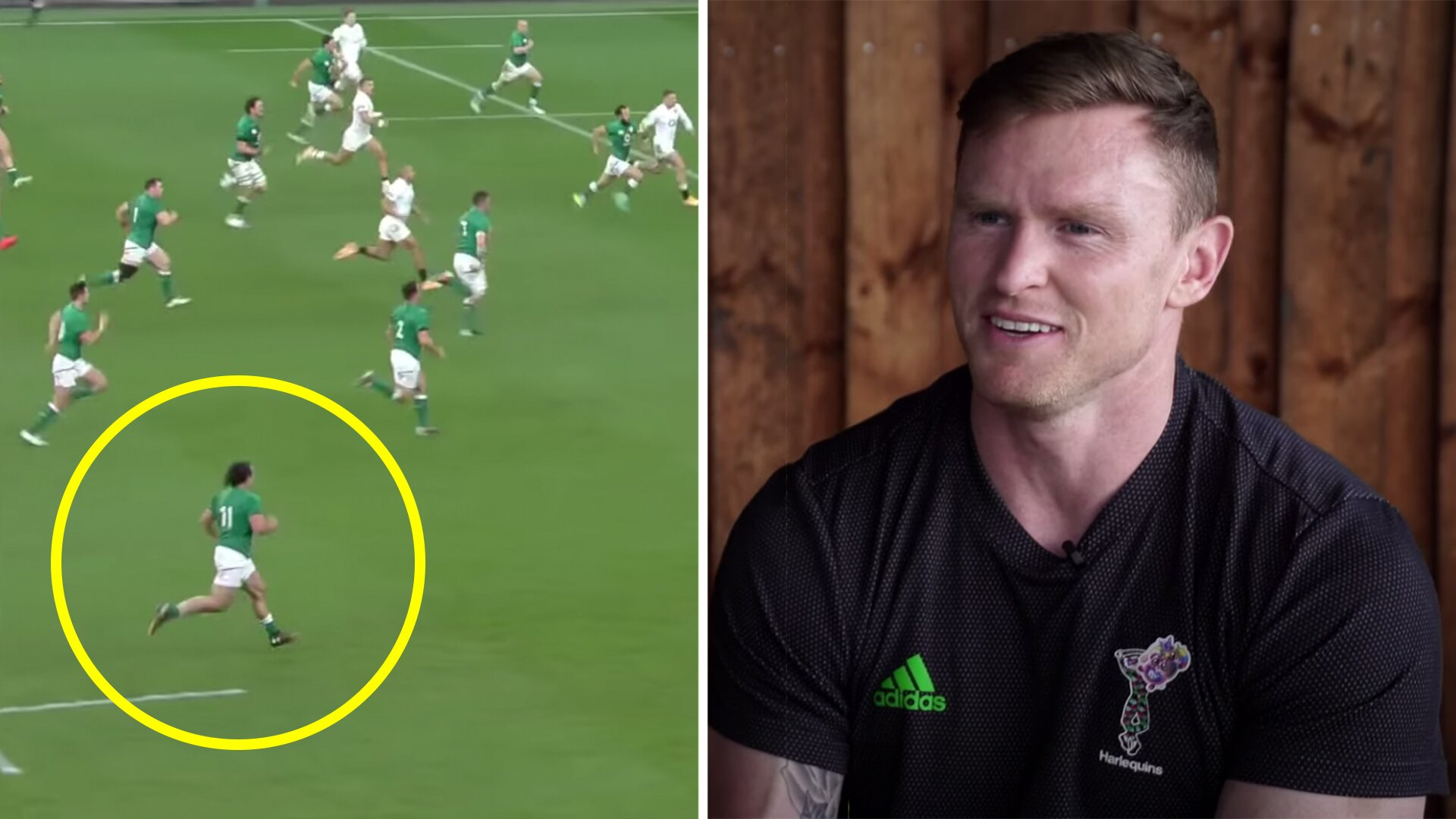Chris Ashton sensationally calls out Irish winger James Lowe after his performance against England