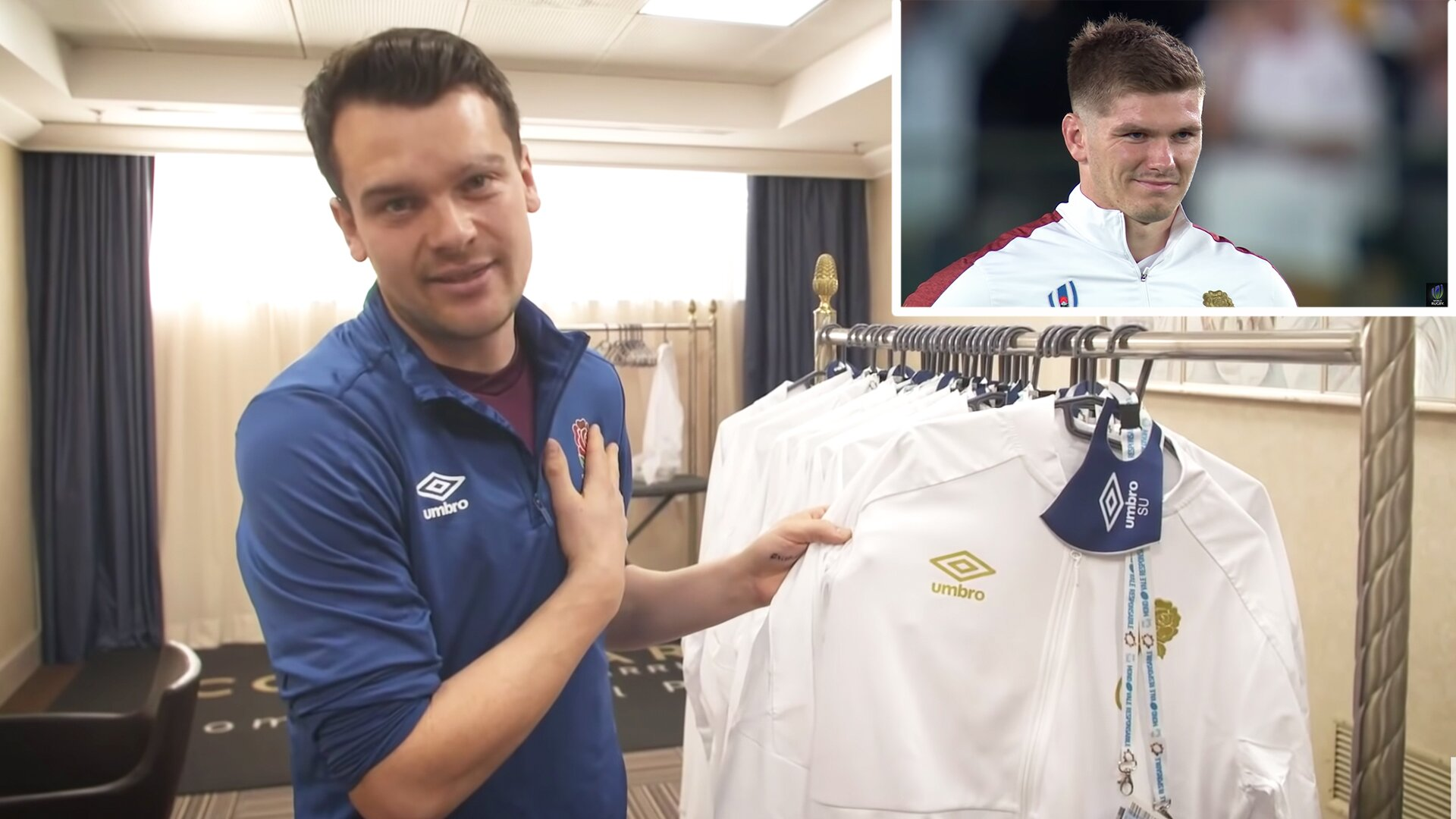 England team manager reveals real reason as to why England now wear gold before games