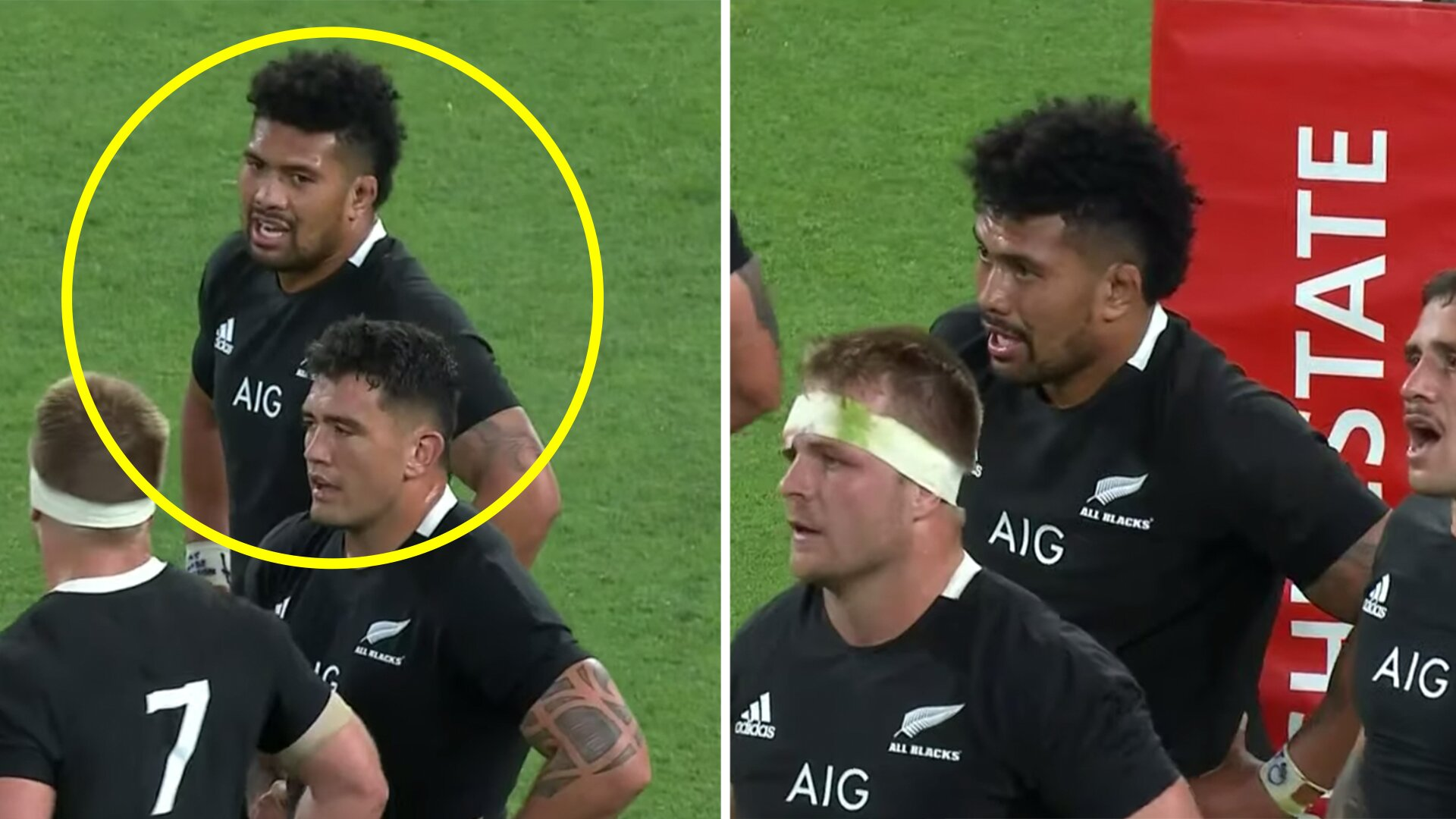 Outrage as footage shows Ardie Savea consistently not wearing a gumshield for All Blacks