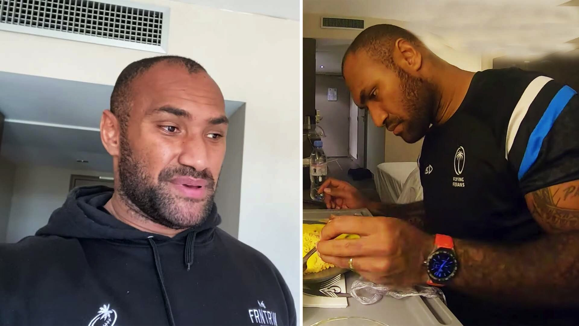 Nemani Nadolo reveals 8kg weight loss as he and Fiji team remain holed up in hotel rooms