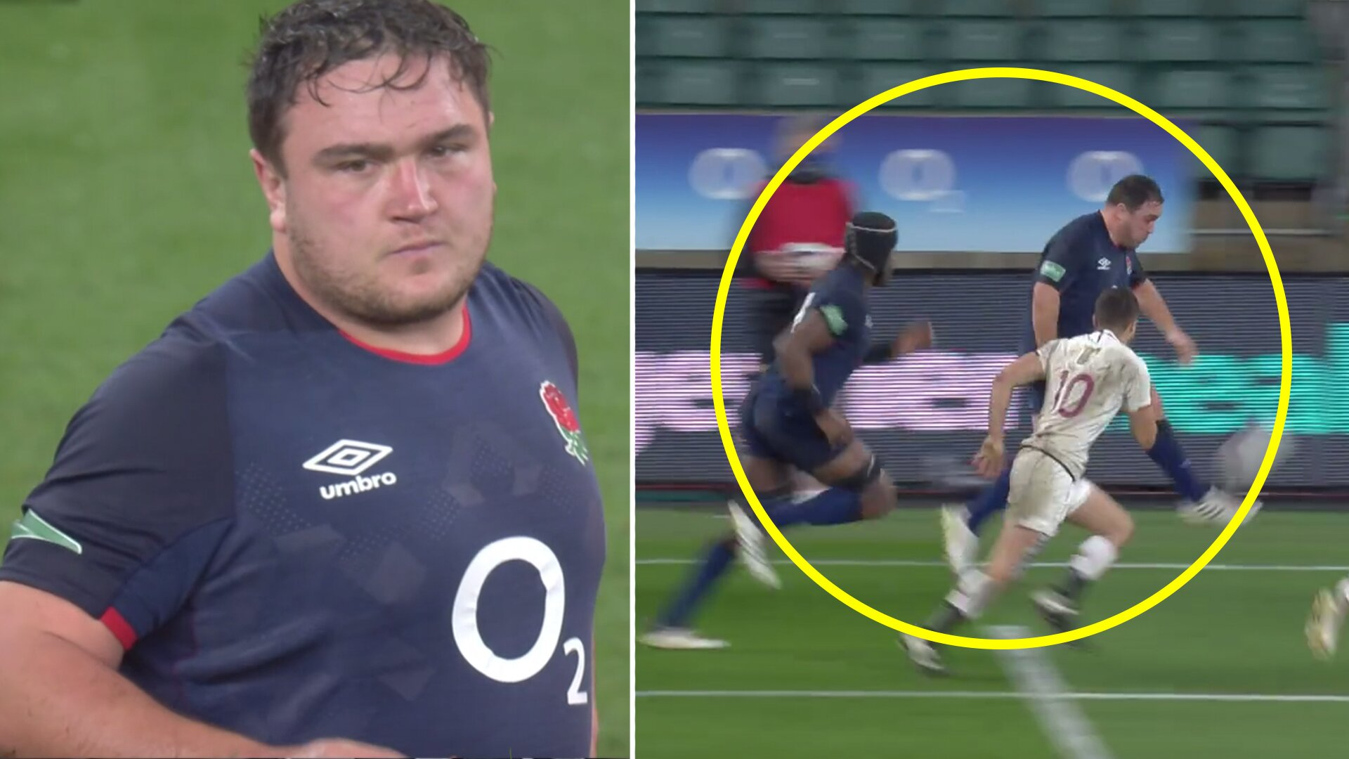 Incredible footage of Jamie George in Georgia match is undeniable proof that he is best hooker in the World