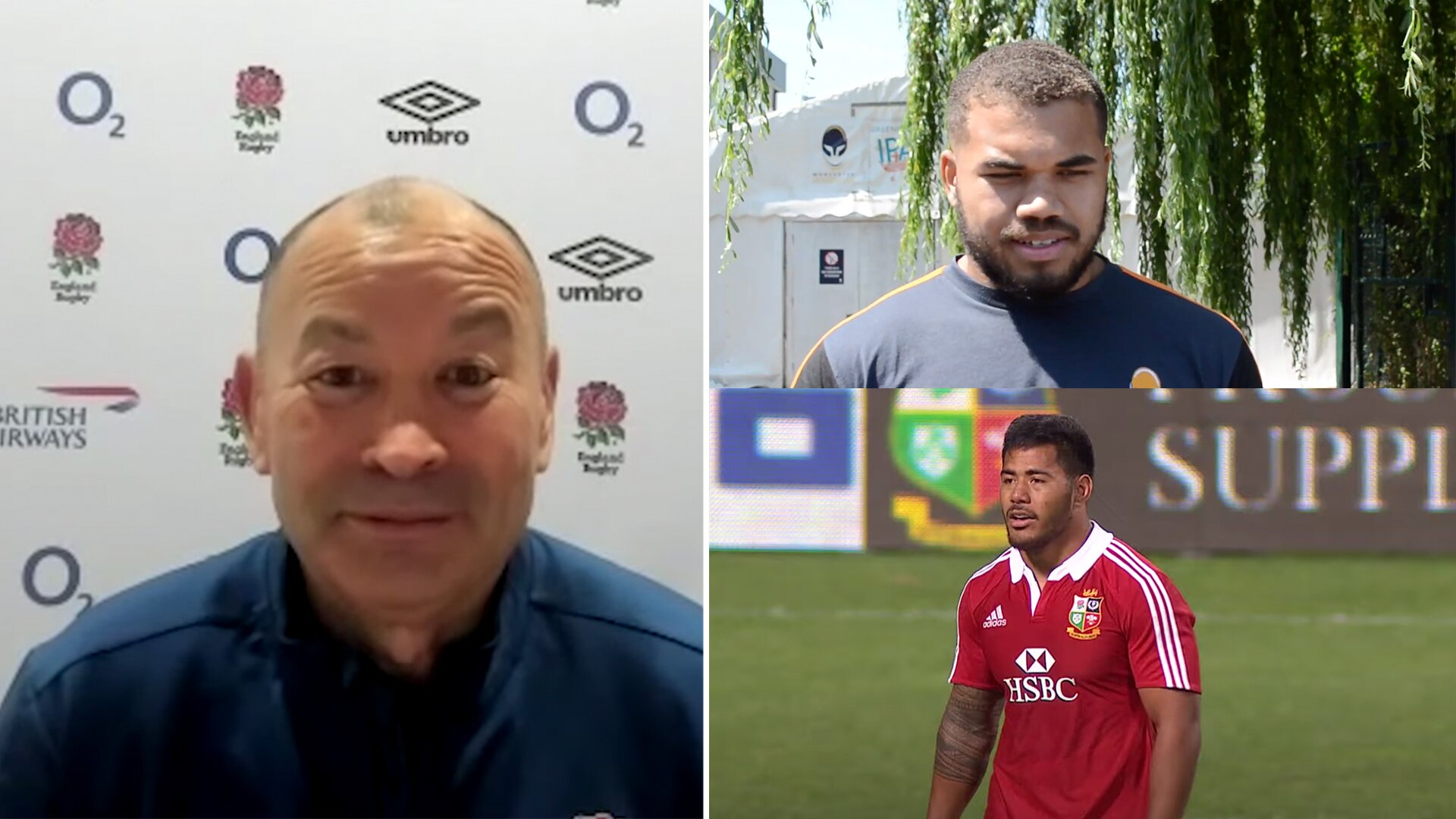 Eddie Jones calls out the 'poison' in the media for comparing Ollie Lawrence to Manu Tuilagi