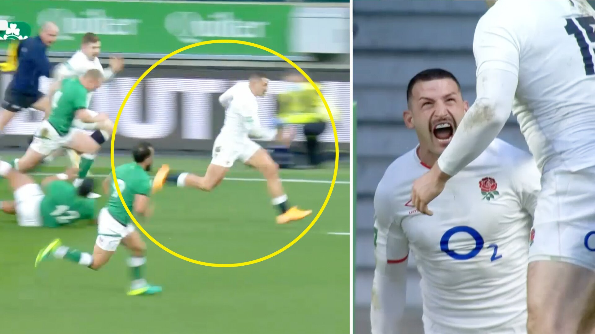Jonny May's phenomenal length of the field try is sending the internet into overdrive