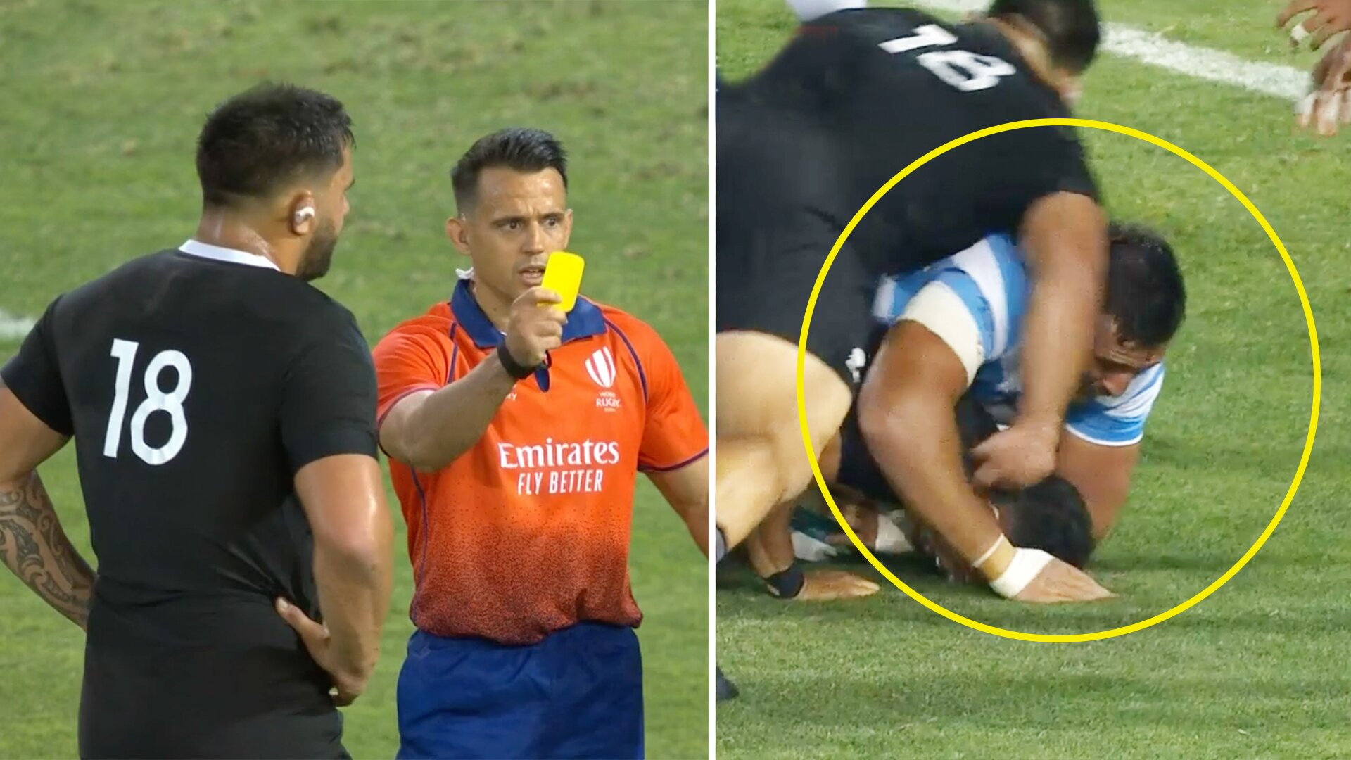 Outrage as All Black prop avoids red card for revolting cheap shot in Tri Nations clash