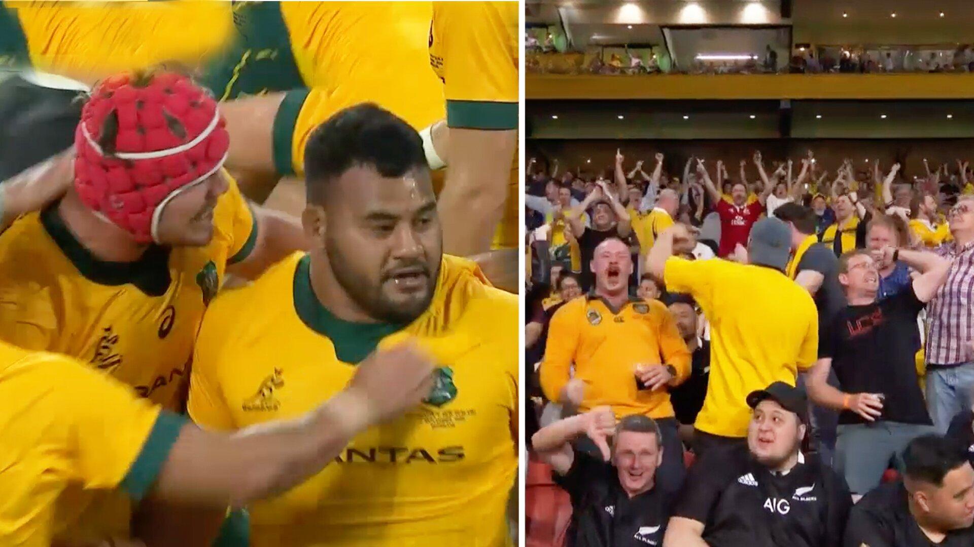 Wallabies stun All Blacks in test match epic in Brisbane