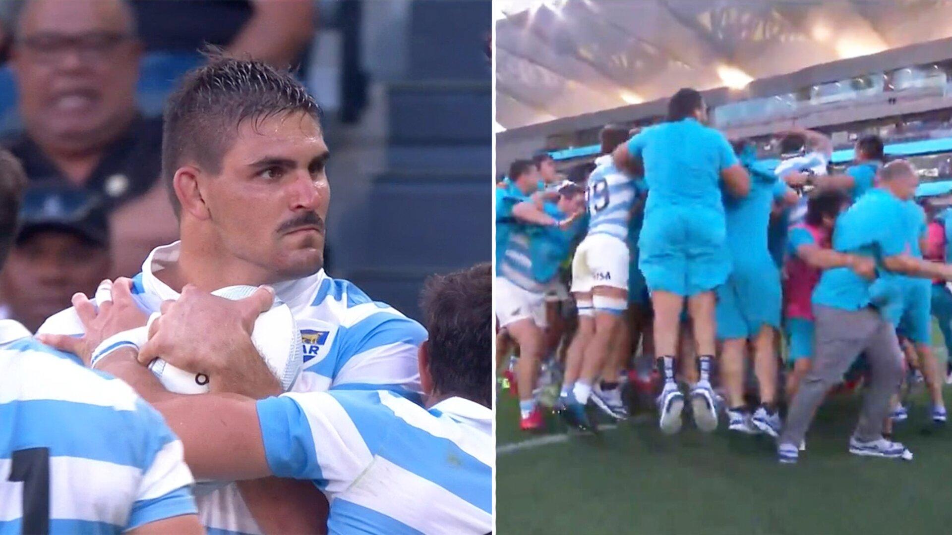 Argentina stun New Zealand with sensational win in Sydney