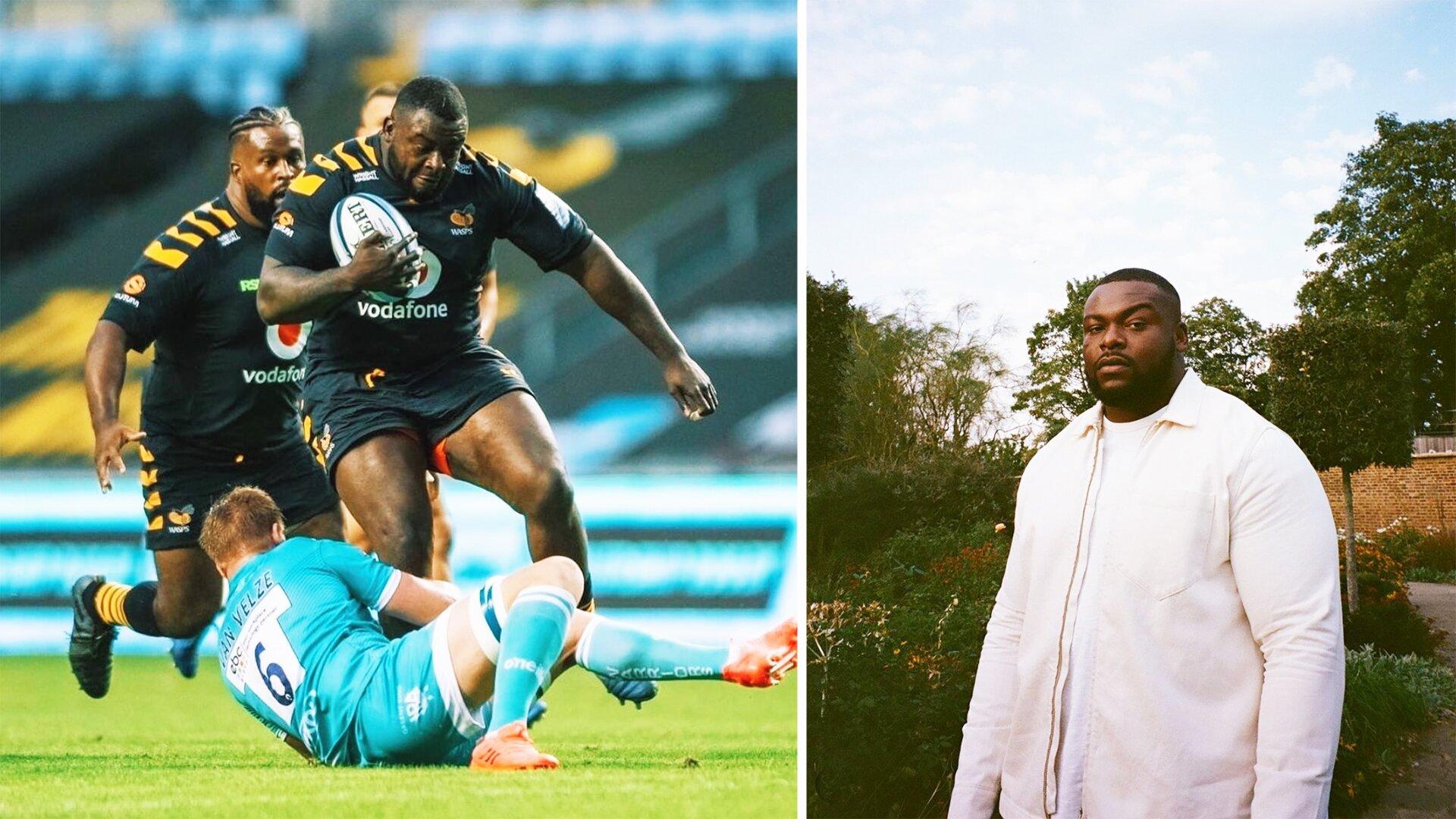 Wasps star Biyi Alo looking to break into UK music charts after extraordinary Premiership season