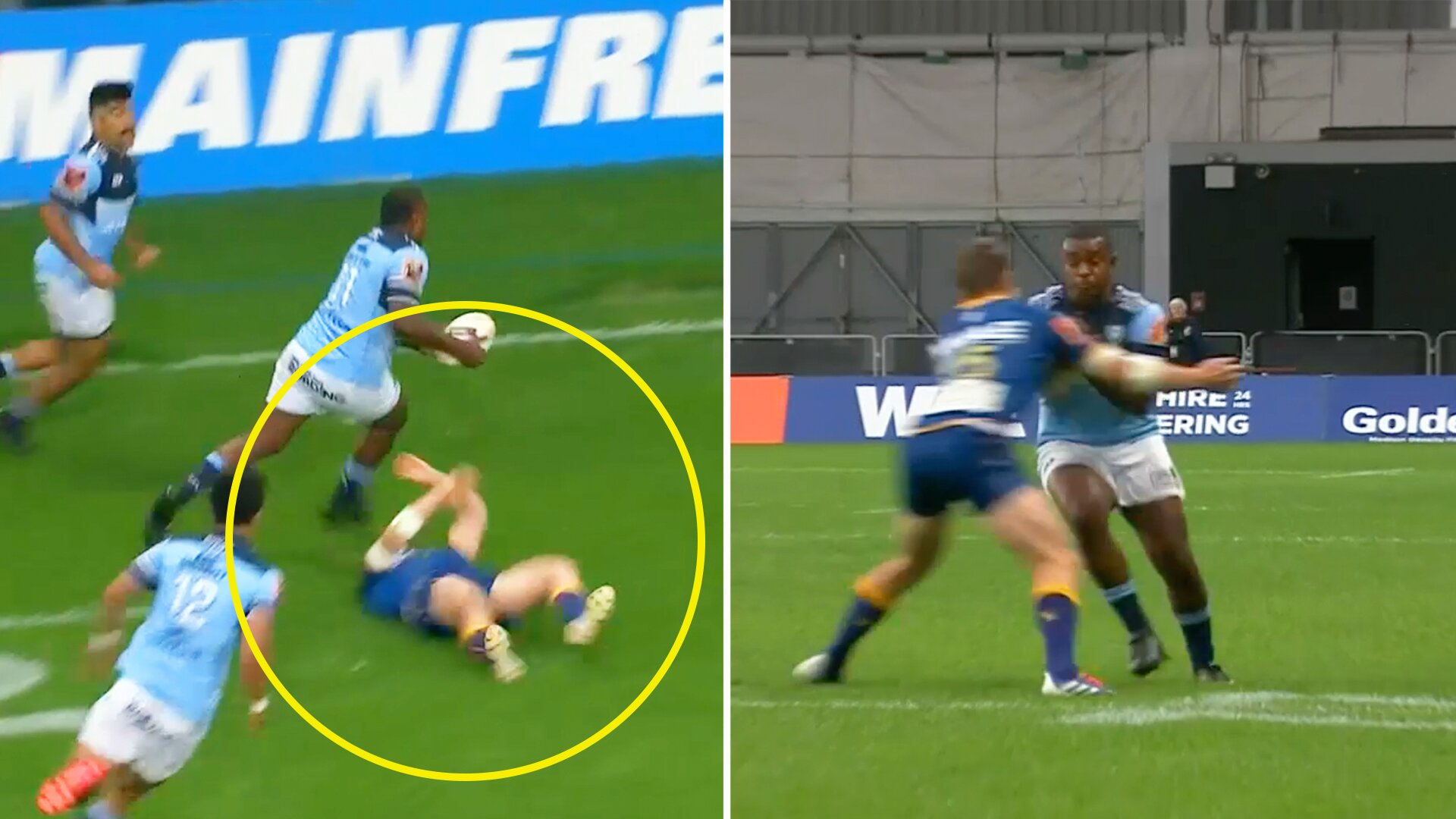 WATCH - Concerns for Kiwi fullback after sickening clash in this morning's Mitre 10 Cup clash