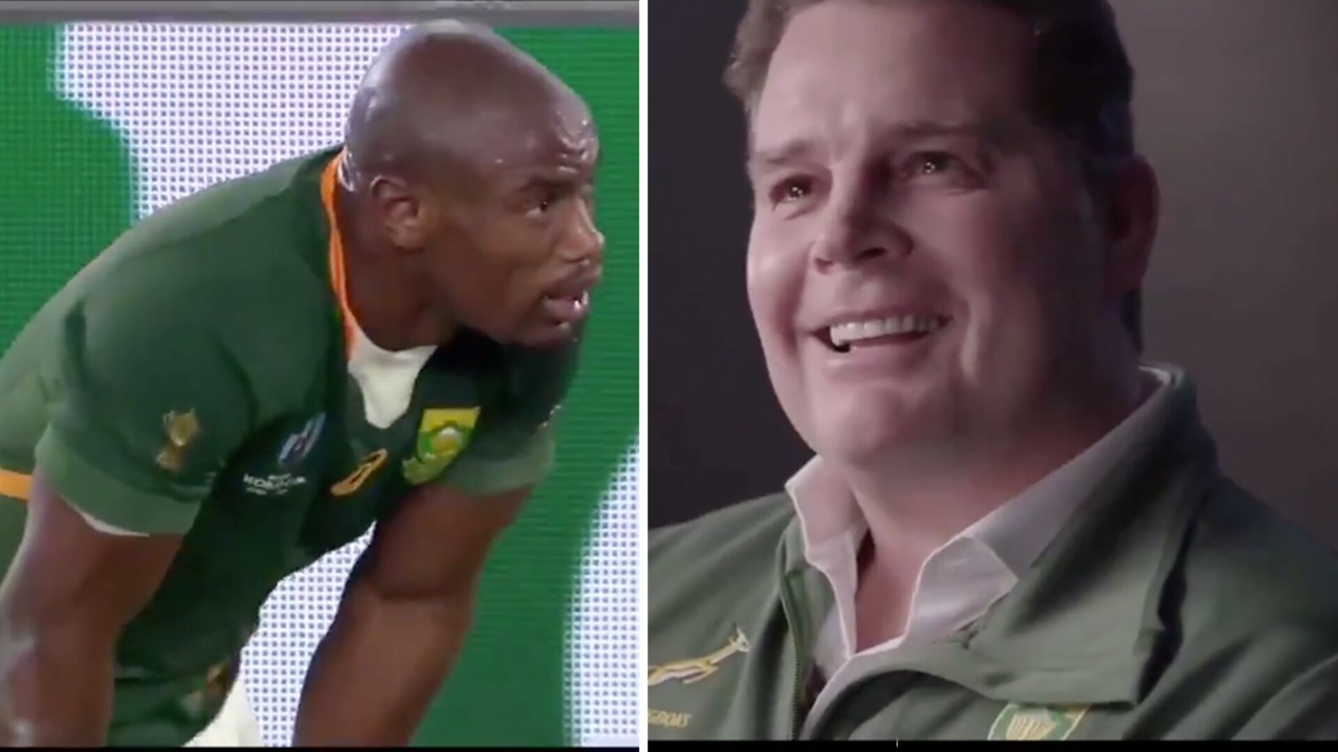 The desperately emotional Springboks clip which is going viral across the sporting world