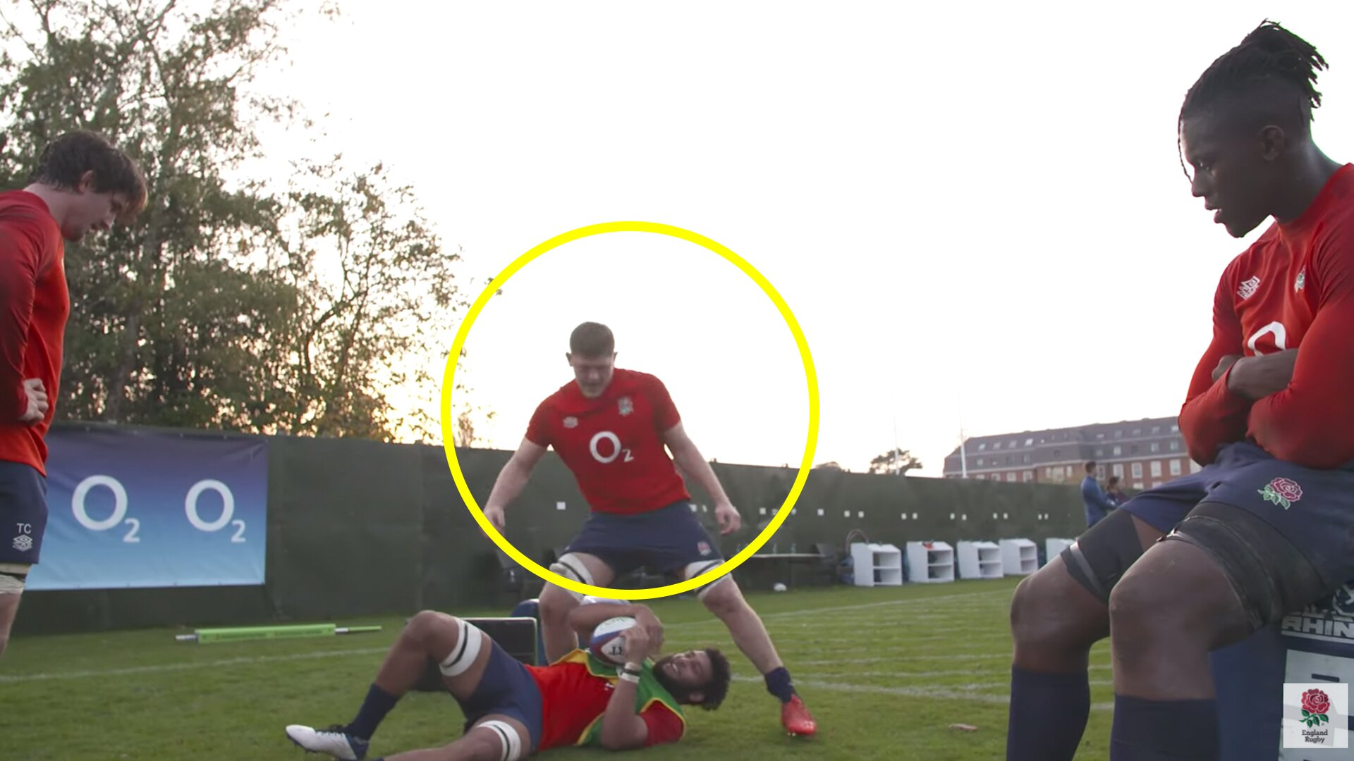 New footage of Jack Willis in England training is clear proof why he will be England Number 1 choice from now on