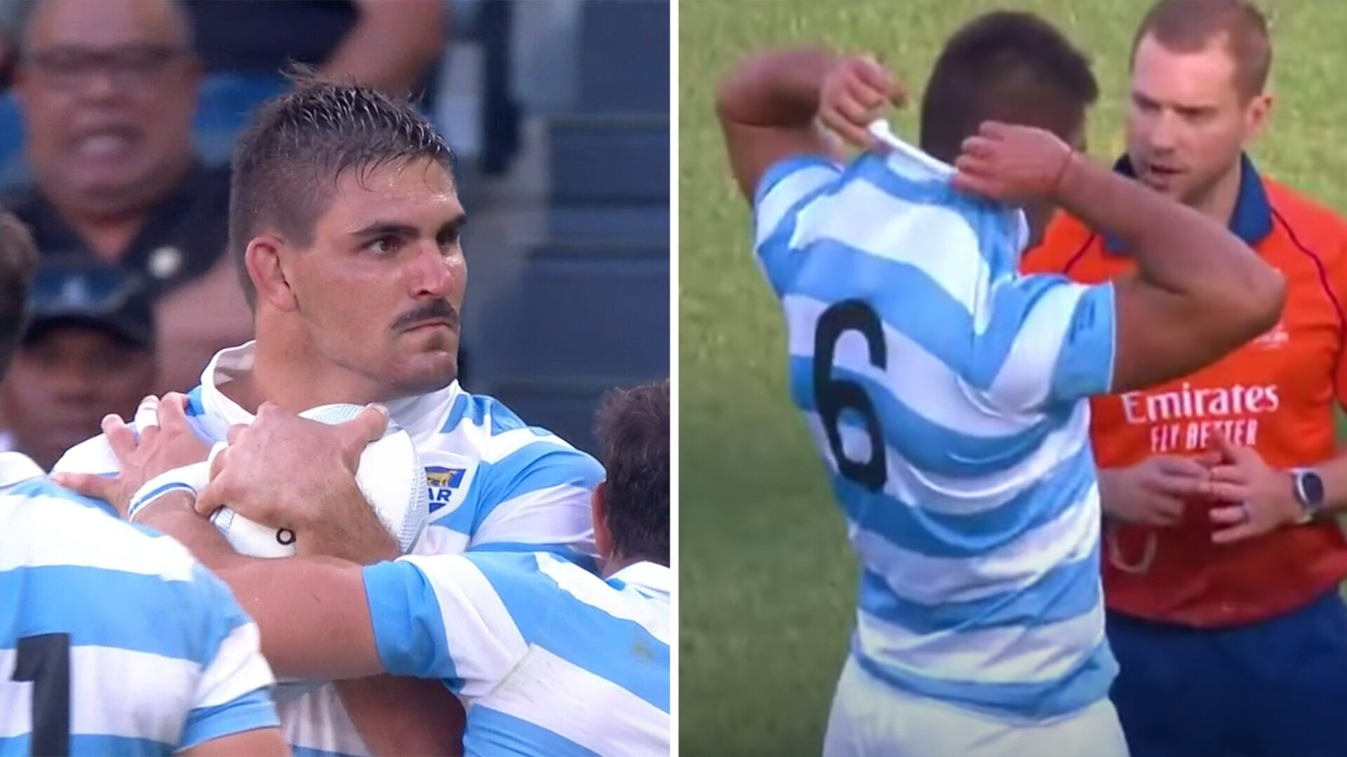 Internet is losing it's mind over terrifying Pablo Matera edit from weekend's match