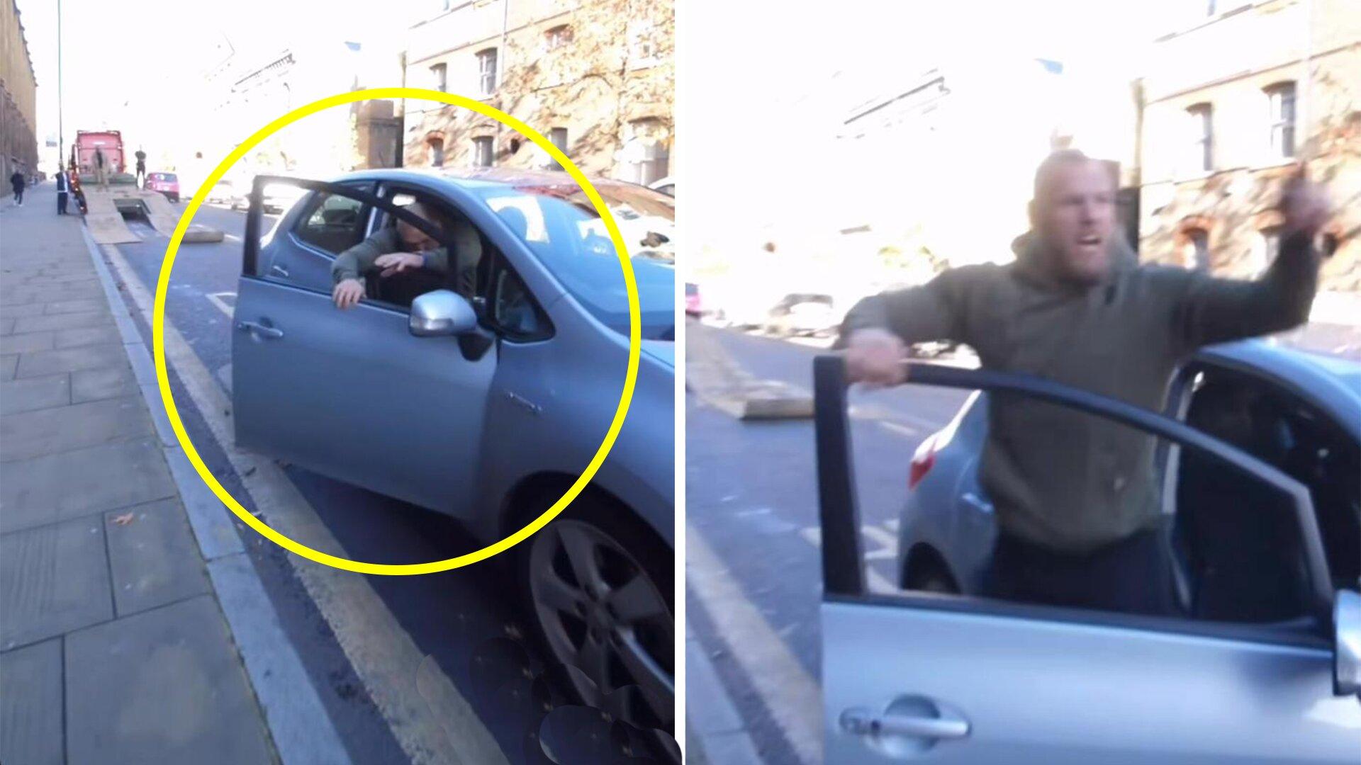 Investigation underway as James Haskell road rage footage emerges