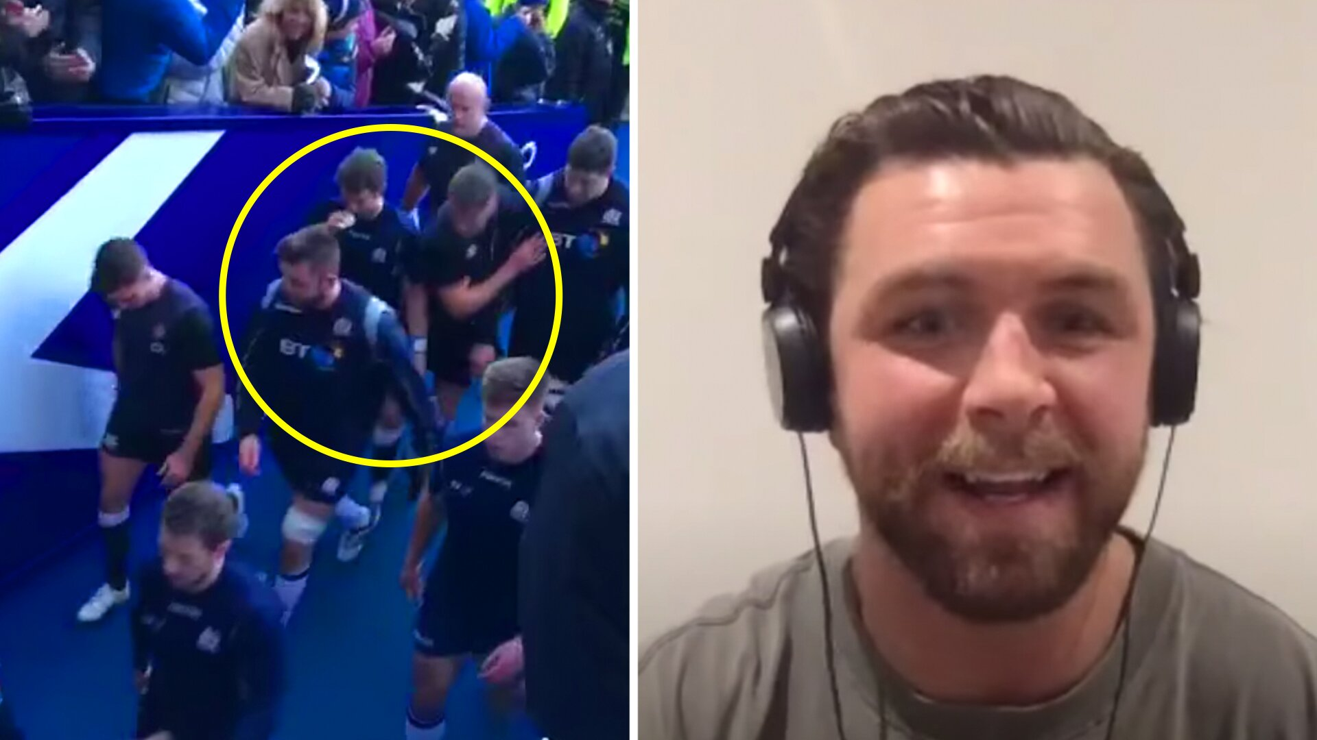 Ryan Wilson reveals what he said to George Ford to start that tunnel brawl with Owen Farrell